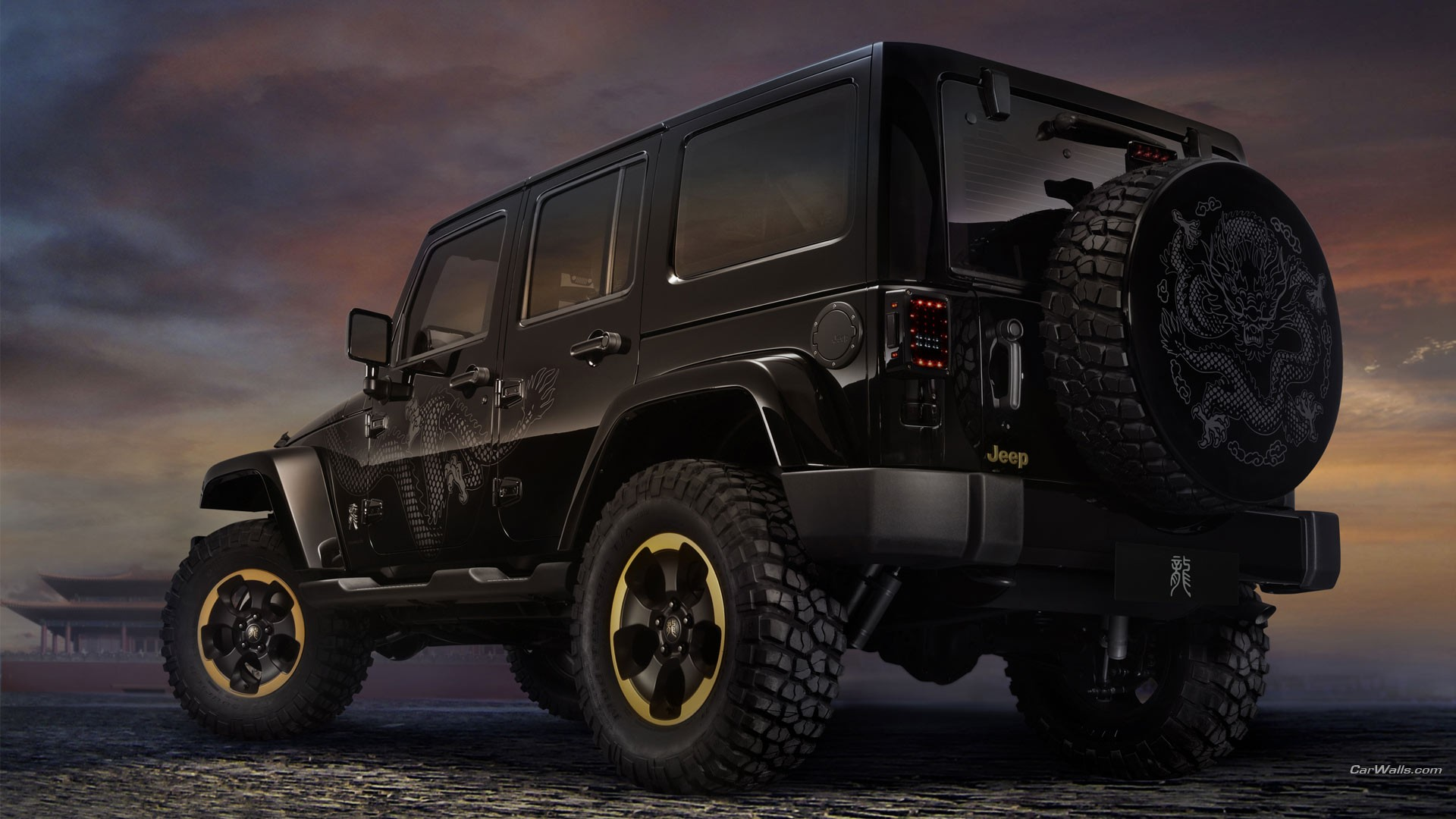 Jeep Wrangler Jeep Car Vehicle 1920x1080