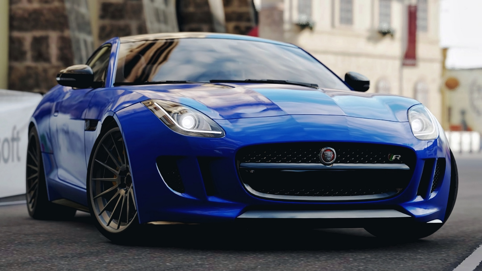Jaguar Car Jaguar F Type Sports Car Blue Cars Car Wallpaper Resolution 1920x1080 Id 167 Wallha Com