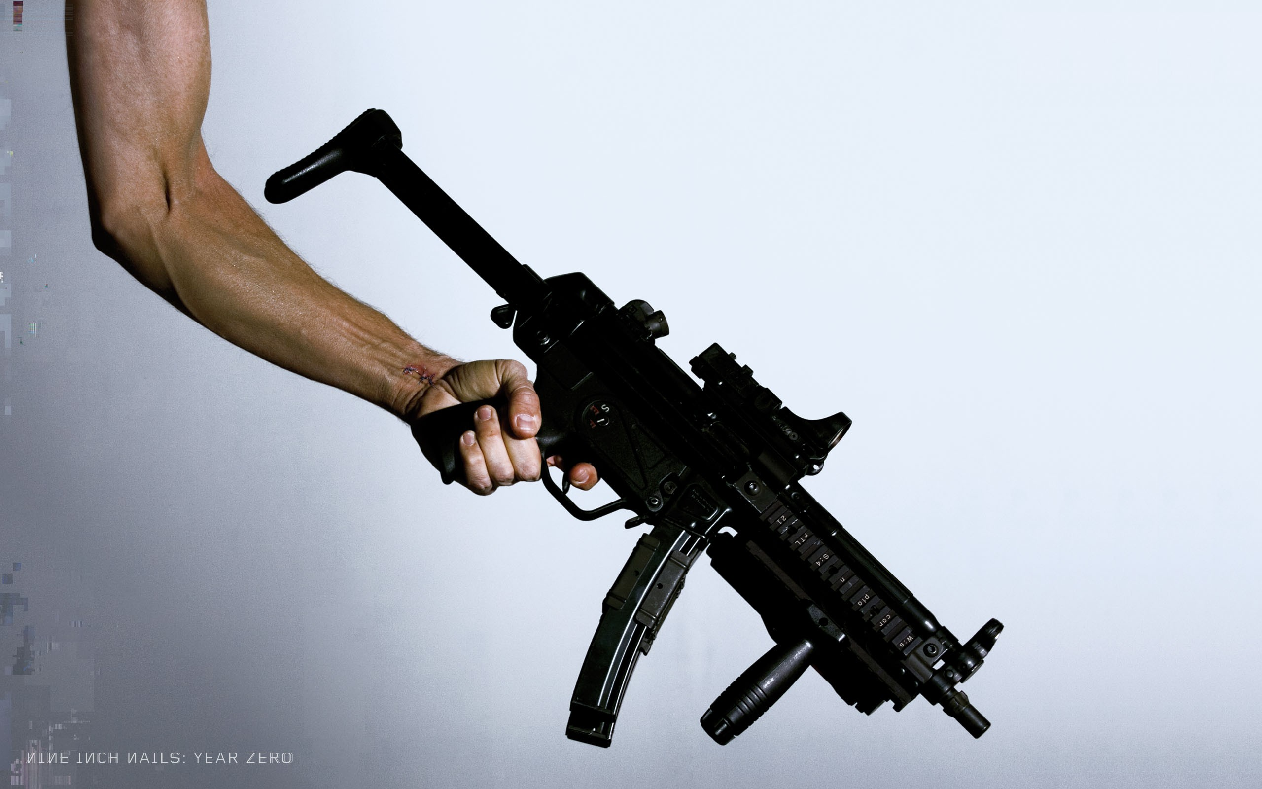 Nine Inch Nails Weapon Arms 2560x1600