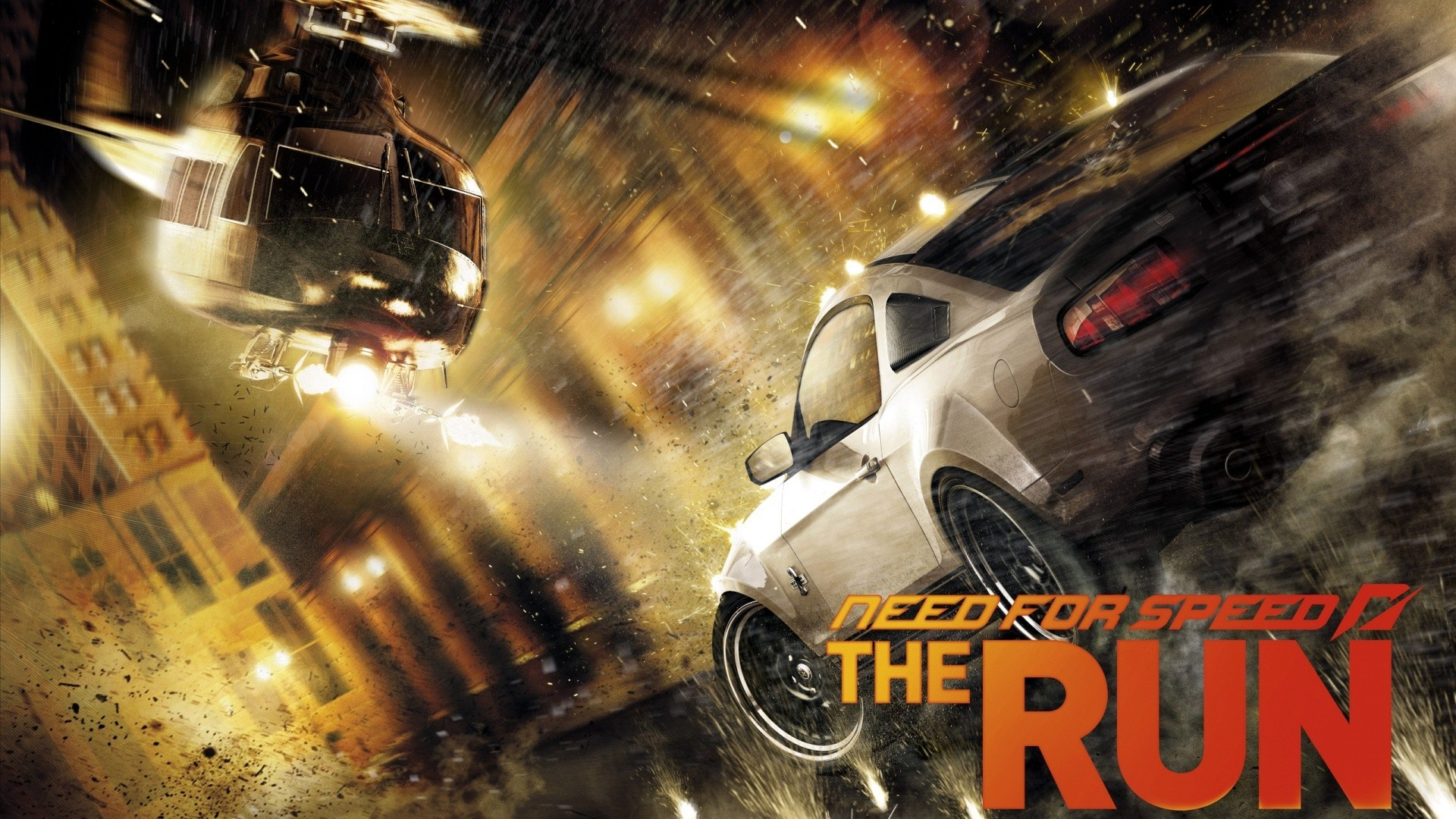 Need For Speed The Run Video Games Video Game Art Car Vehicle Helicopter 1920x1080
