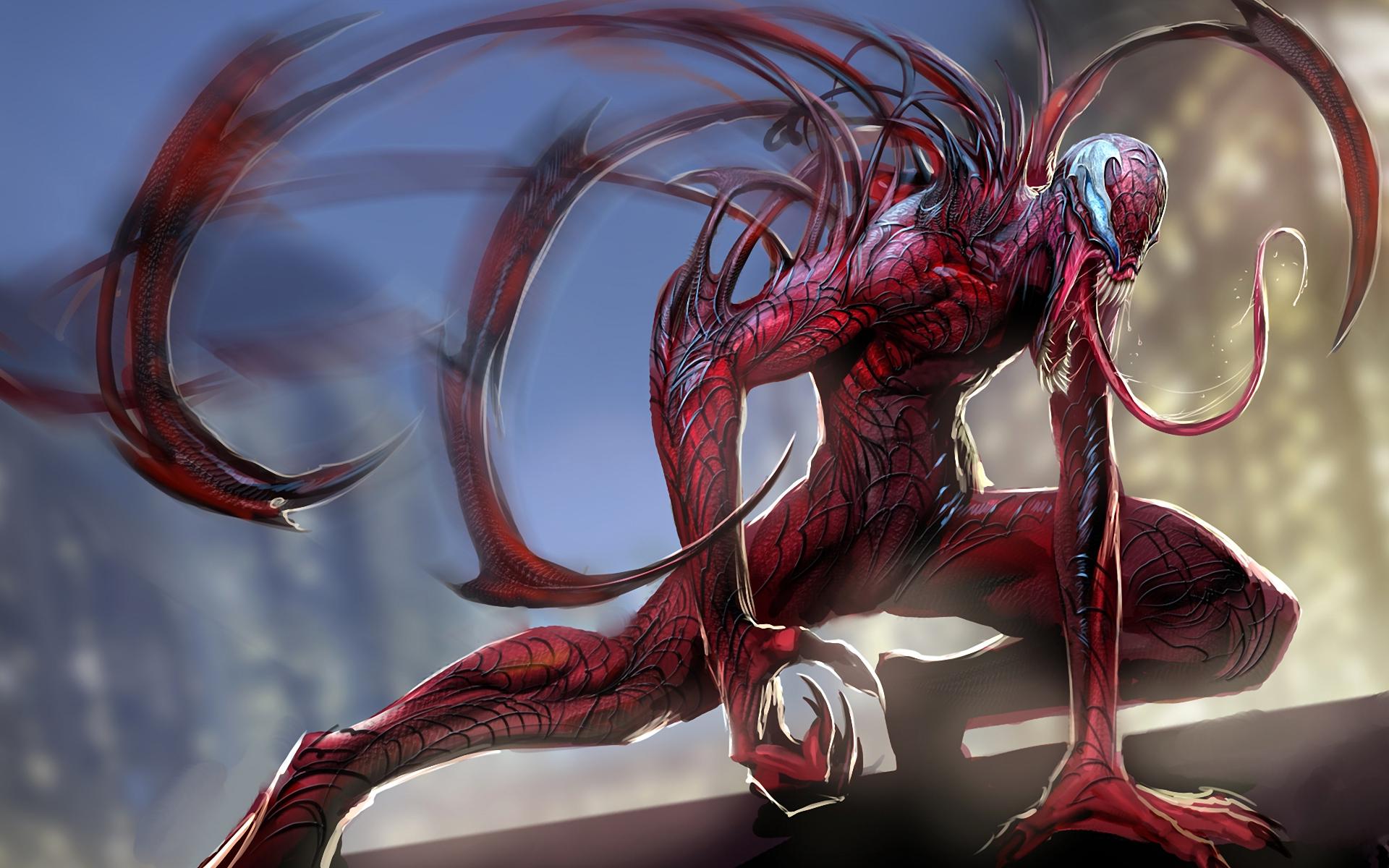 Carnage Marvel Comics Spider Man 1920x1200