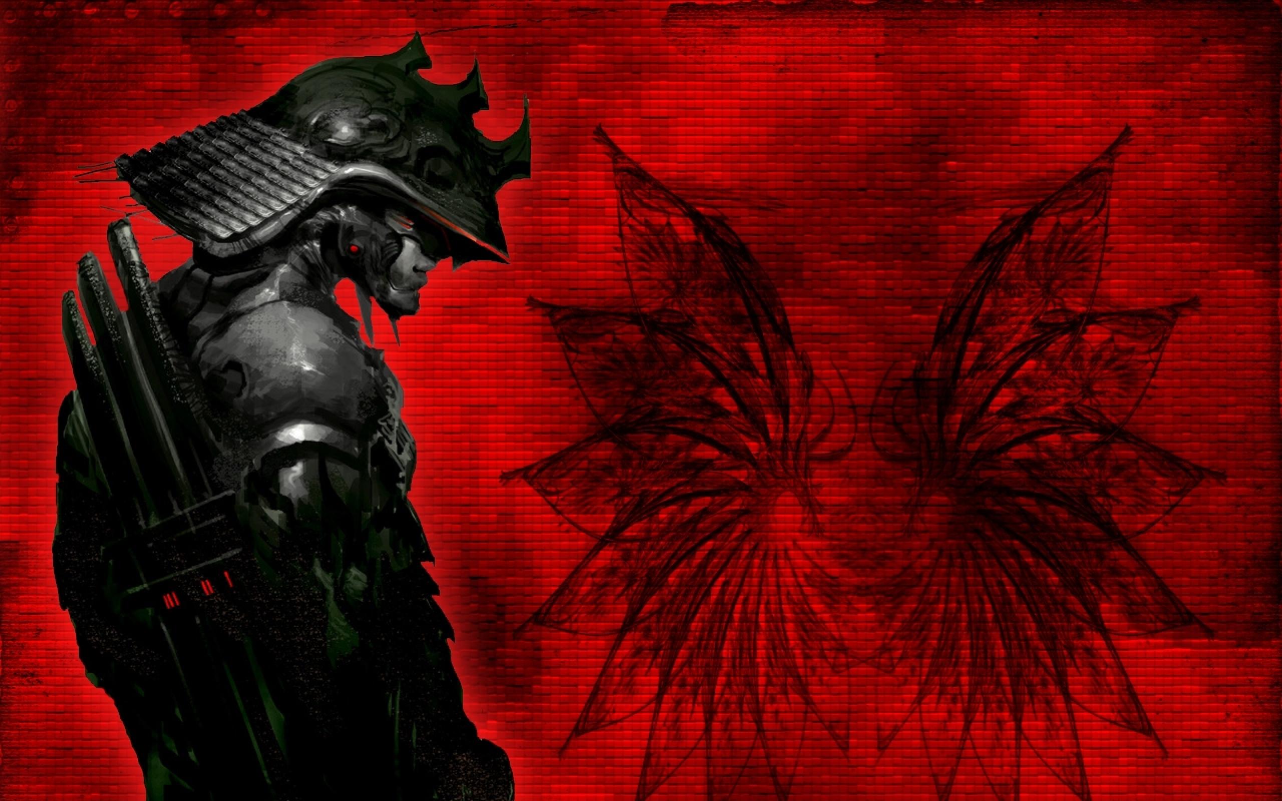 Fantasy Samurai 2560x1600