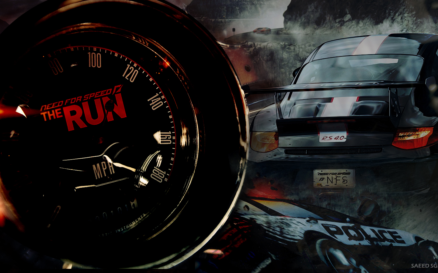 Video Game Need For Speed The Run 1440x900