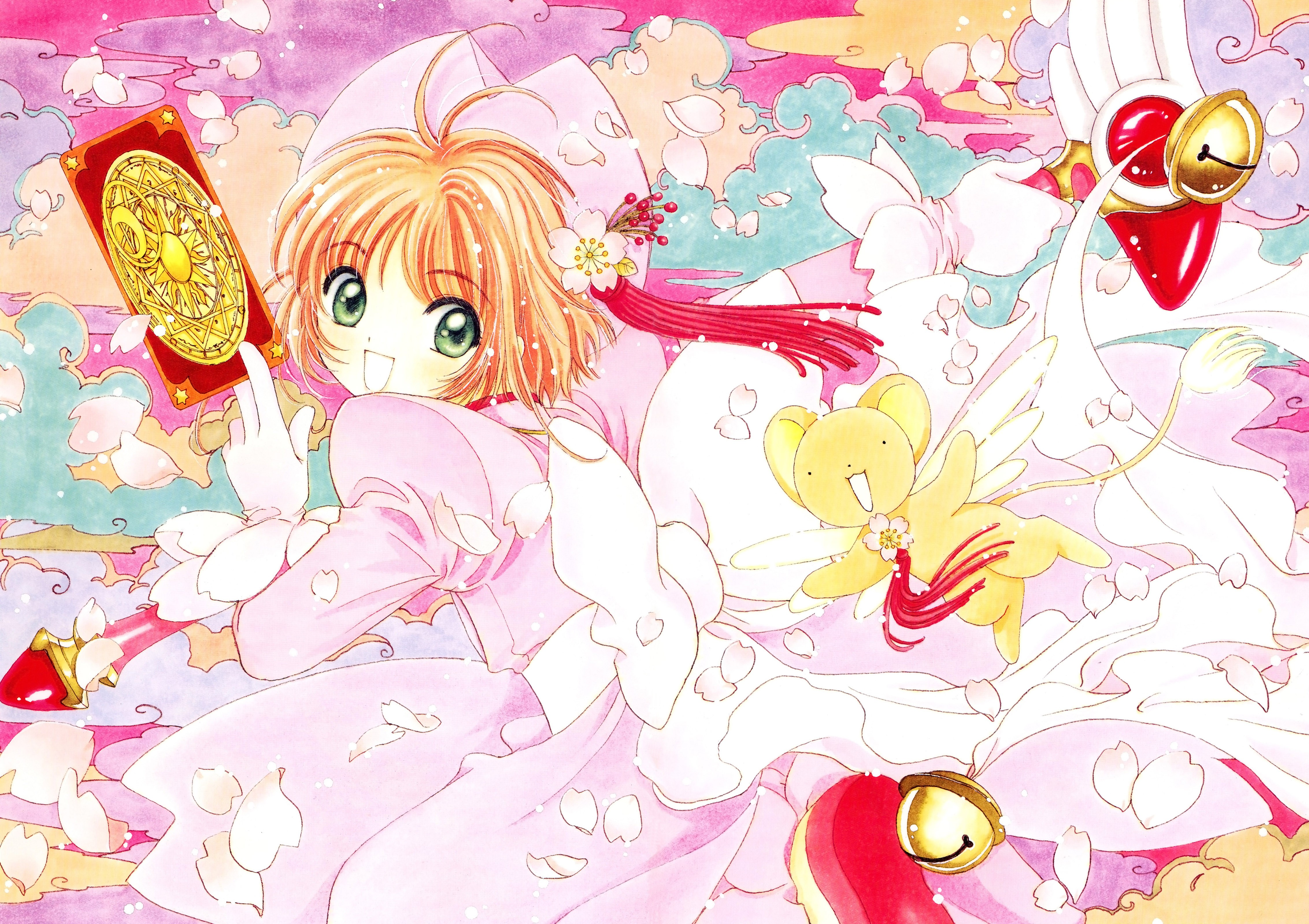 Kinomoto Sakura Cardcaptor Sakura Clamp Wallpaper Resolution 4529x3198 Id 1066 Wallha Com
