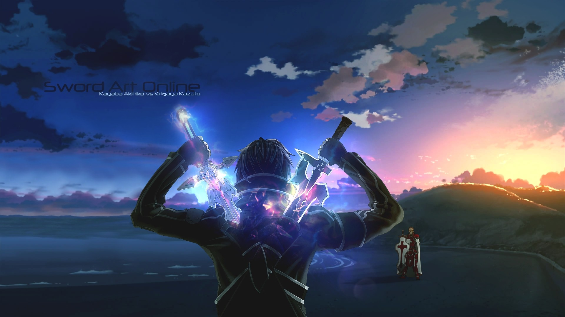 Kayaba Akihiko Kirito Sword Art Online Sunrise Sword Sword Art Online Weapon 1920x1080