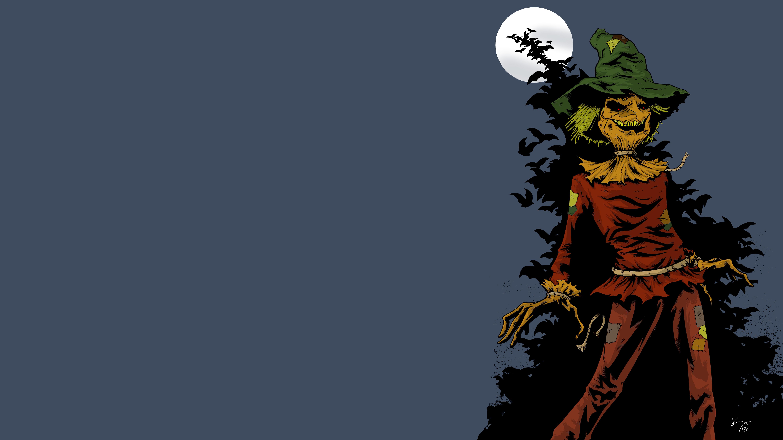 Scarecrow Batman 6000x3375