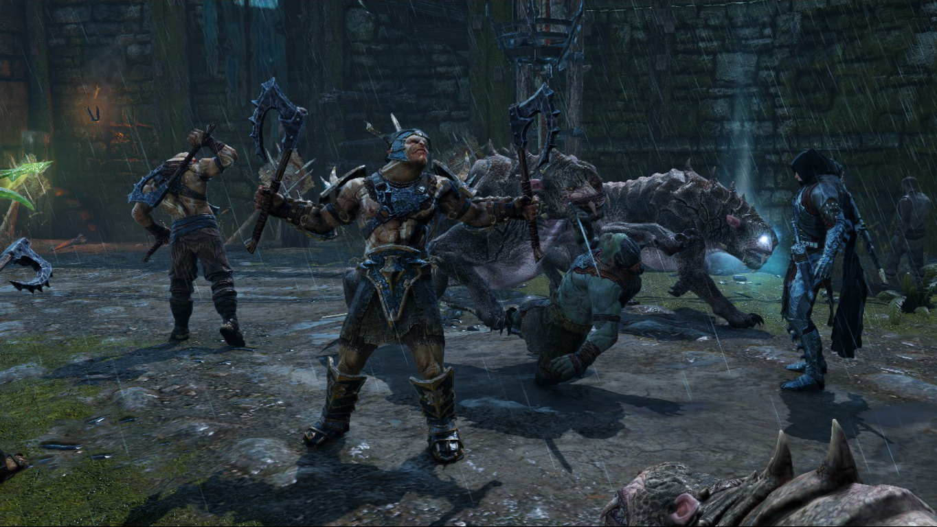 Video Game Middle Earth Shadow Of Mordor 1364x768