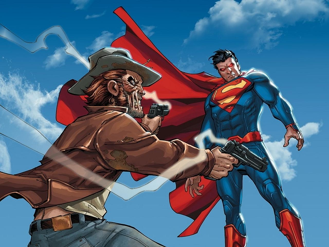 Jonah Hex Superman 1280x960