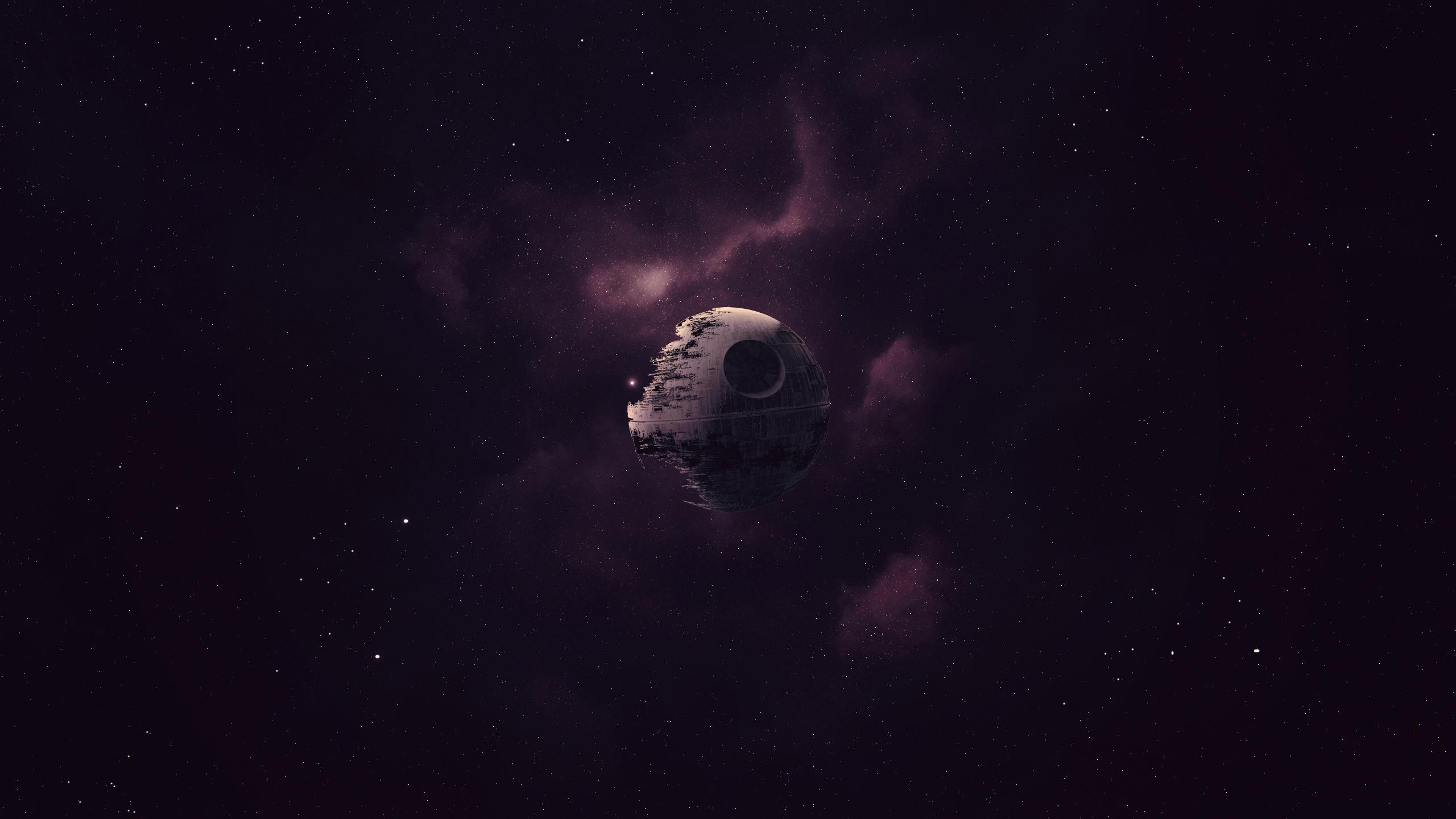 Death Star Star Wars 2560x1440