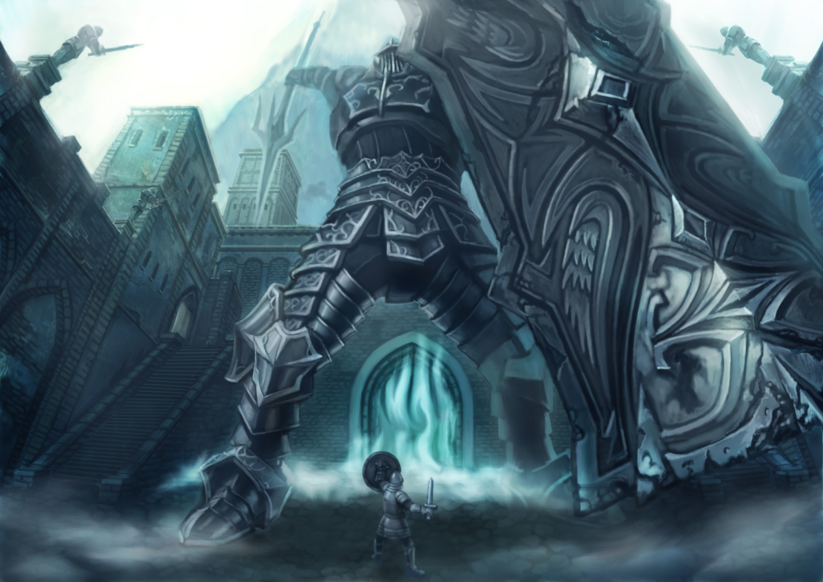 Video Game Demon 039 S Souls 1599x1131