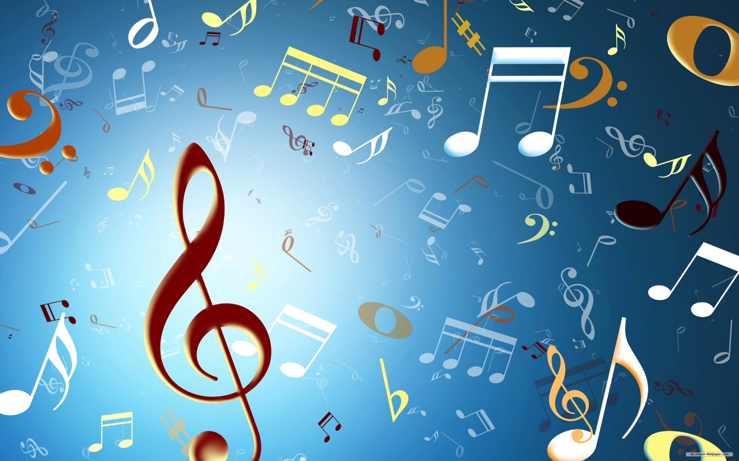 Musical Note 2560x1600