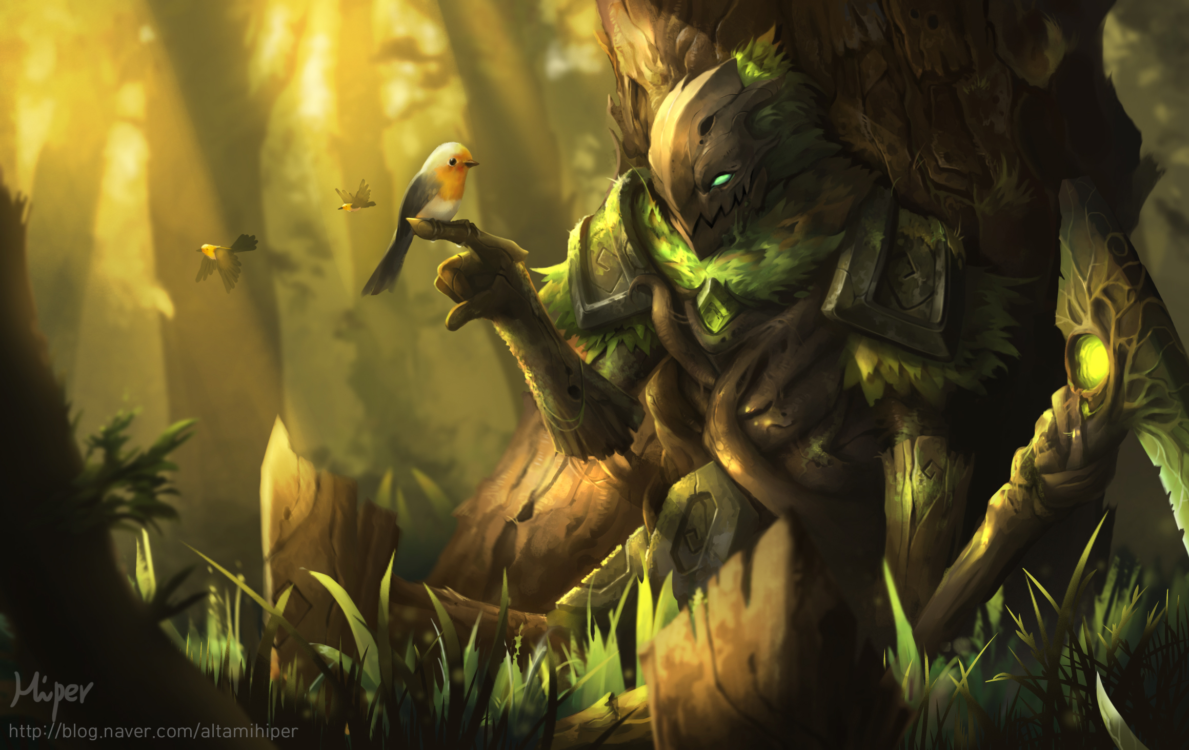 Bird Fiddlesticks League Of Legends 2319x1463