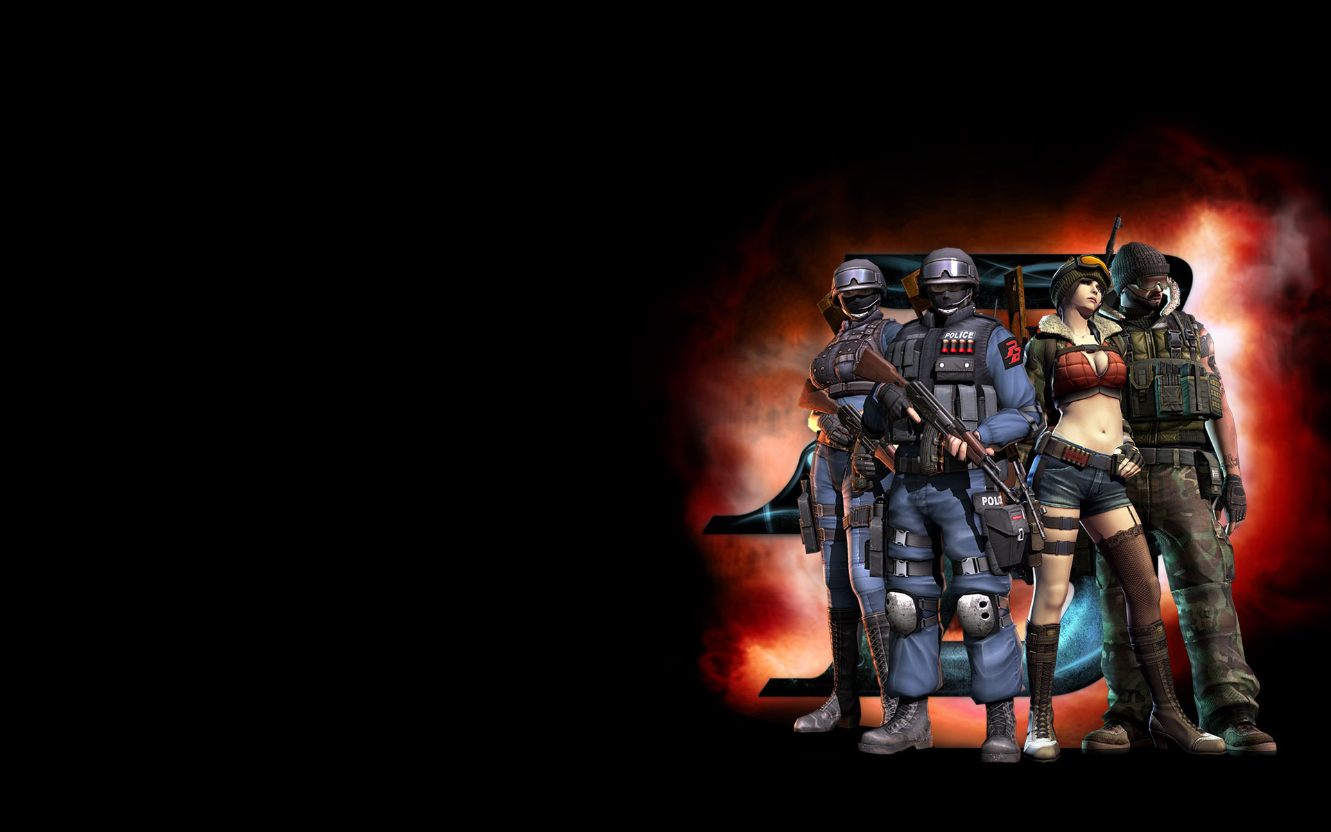 Video Game Point Blank 1920x1200