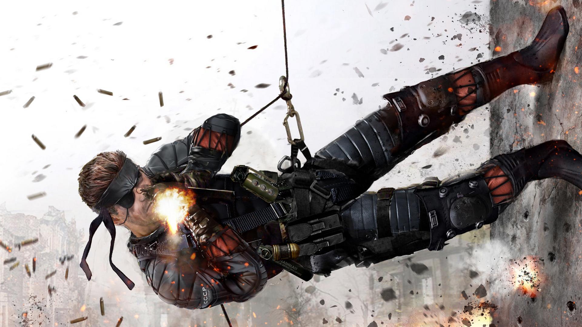 The Boss Metal Gear Wallpaper