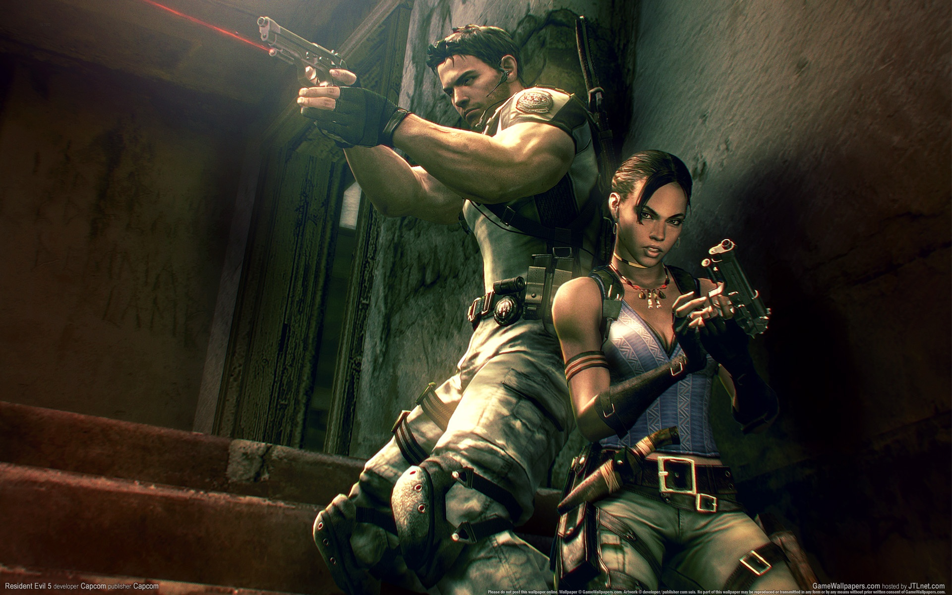 resident evil 5 wallpaper hd