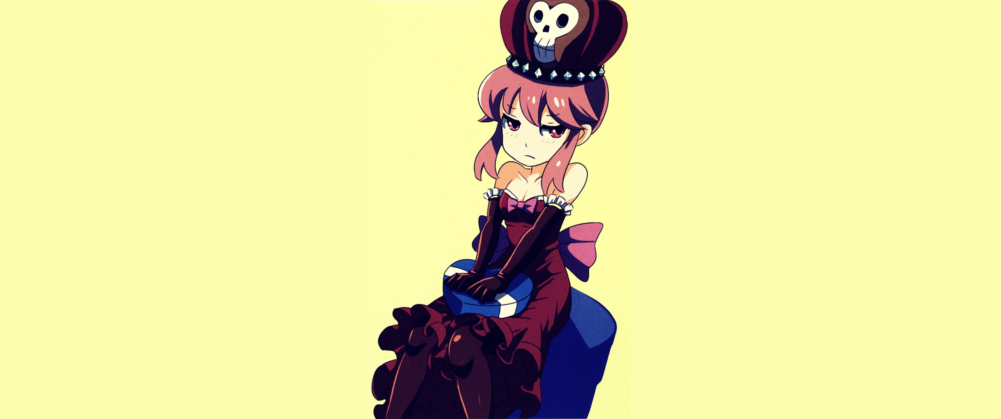 Anime Kill La Kill Jakuzure Nonon Music Manga Wallpaper Resolution 3440x1440 Id Wallha Com