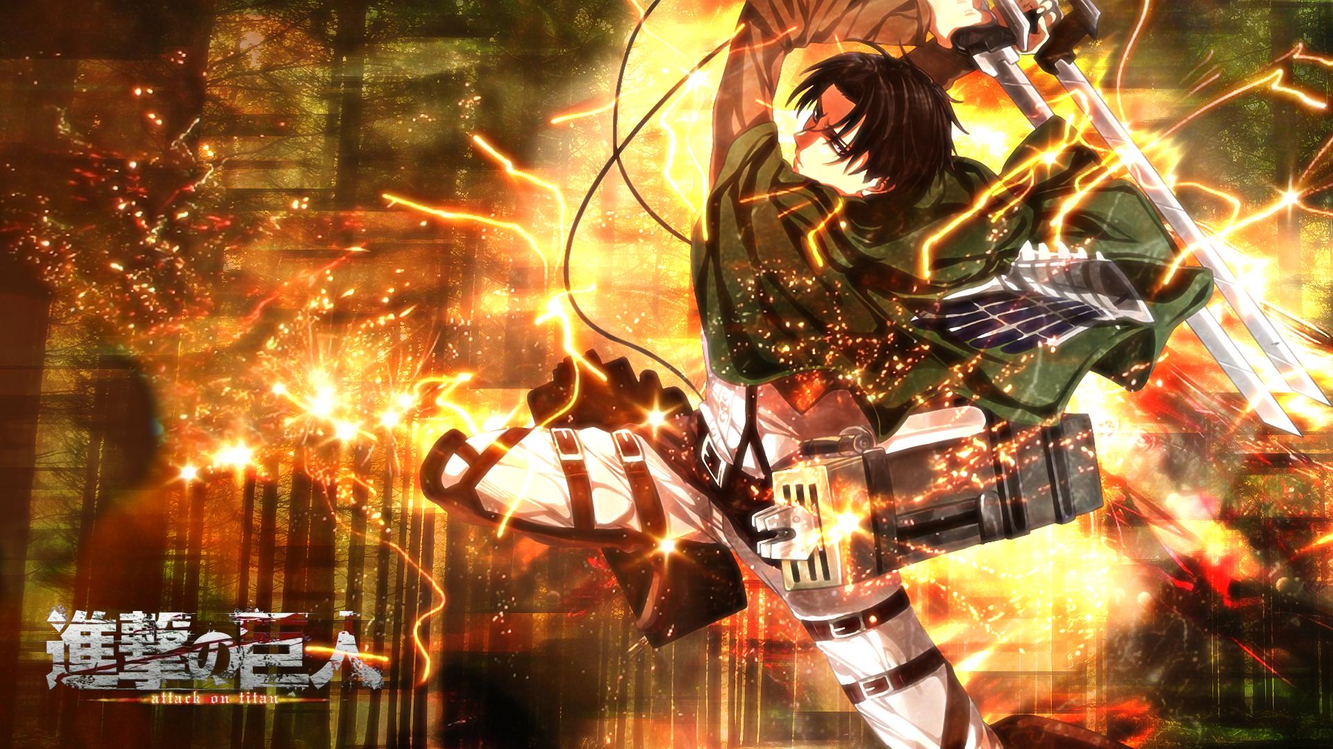 Attack On Titan Levi Ackerman Wallpaper Resolution 1920x1080 Id 968025 Wallha Com