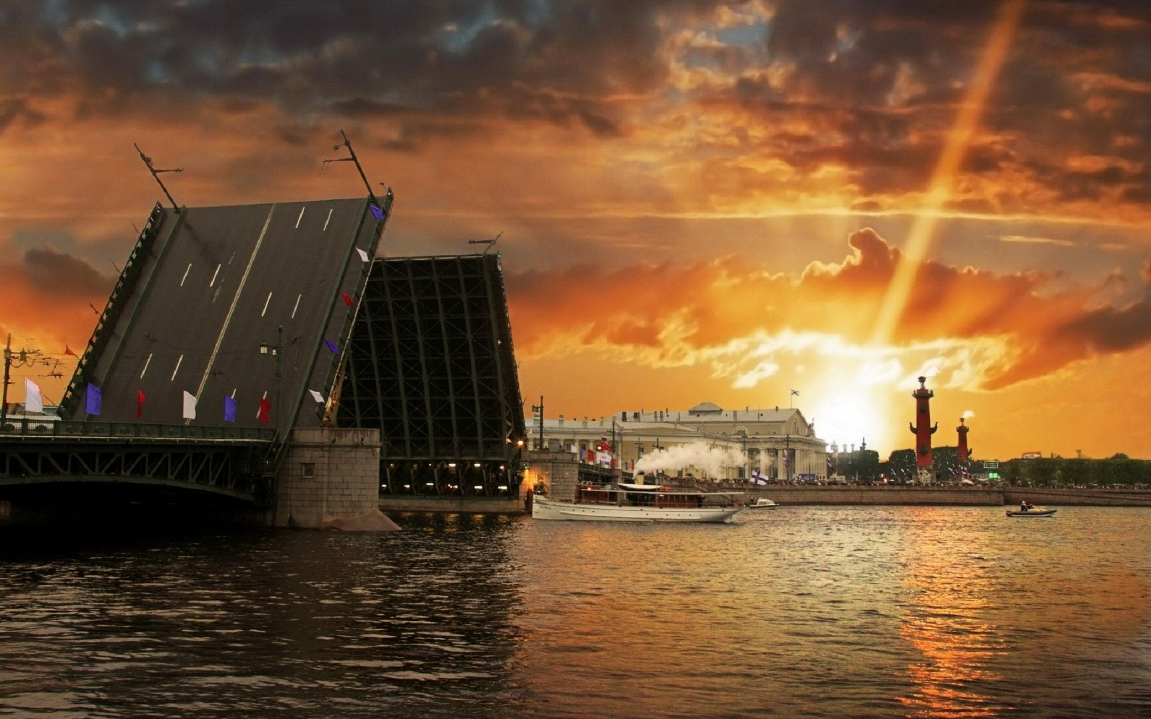 Man Made Saint Petersburg 3840x2400