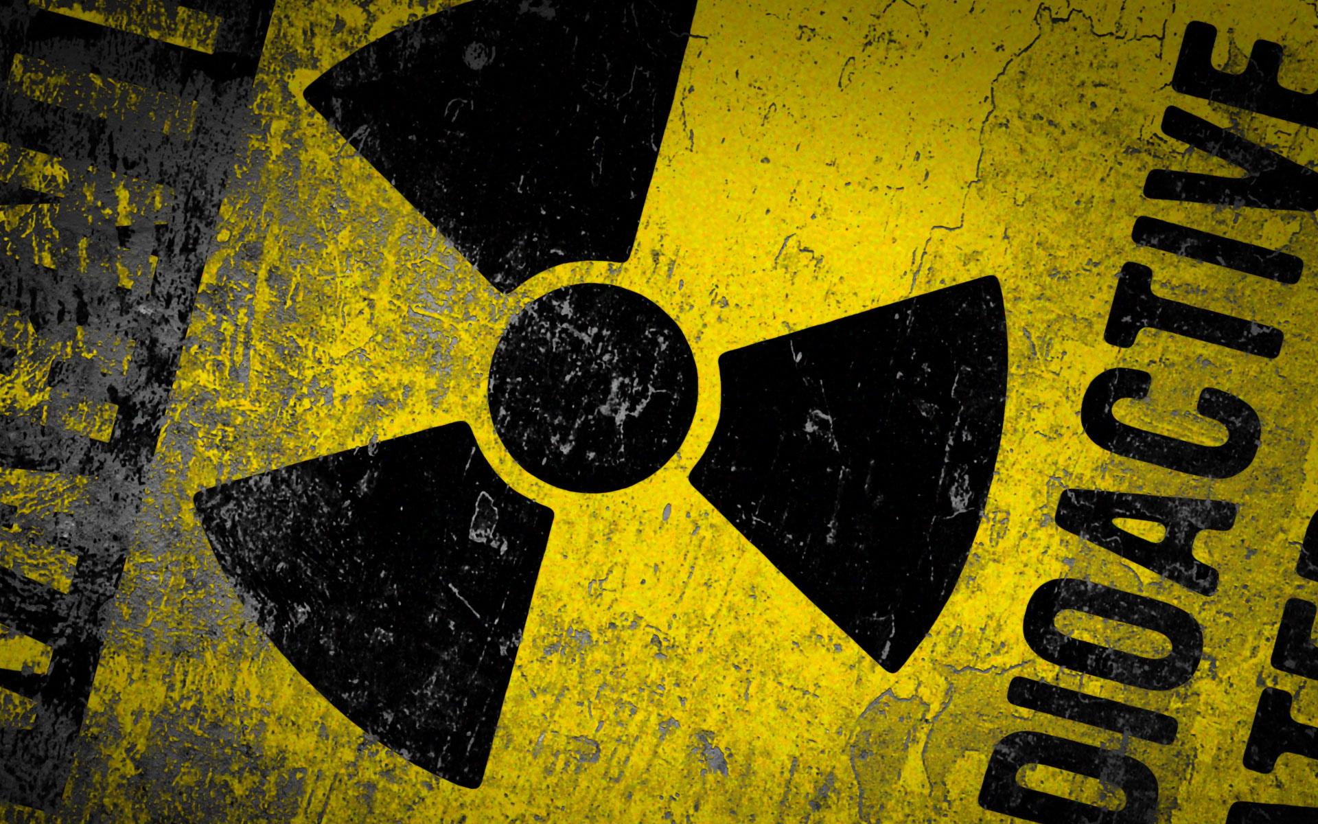 Danger Radioactive Sign 1920x1200