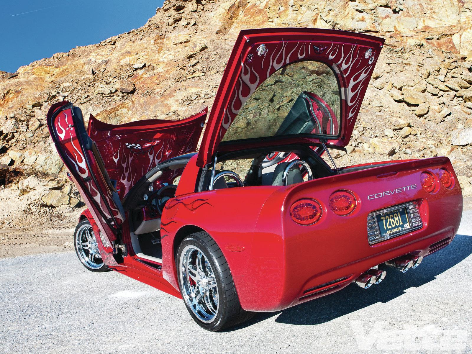 Chevrolet Chevrolet Corvette Classic Car Hot Rod Muscle Car 1600x1200