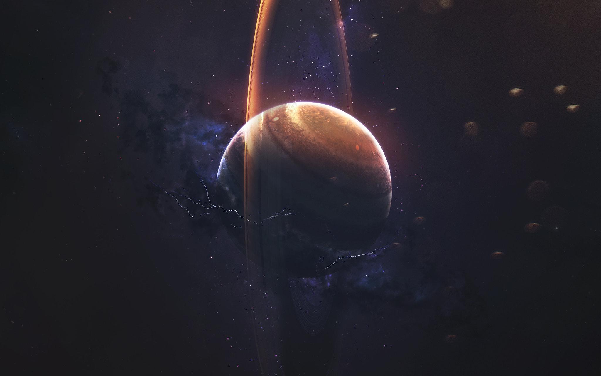 Planet Sci Fi Space 2048x1280