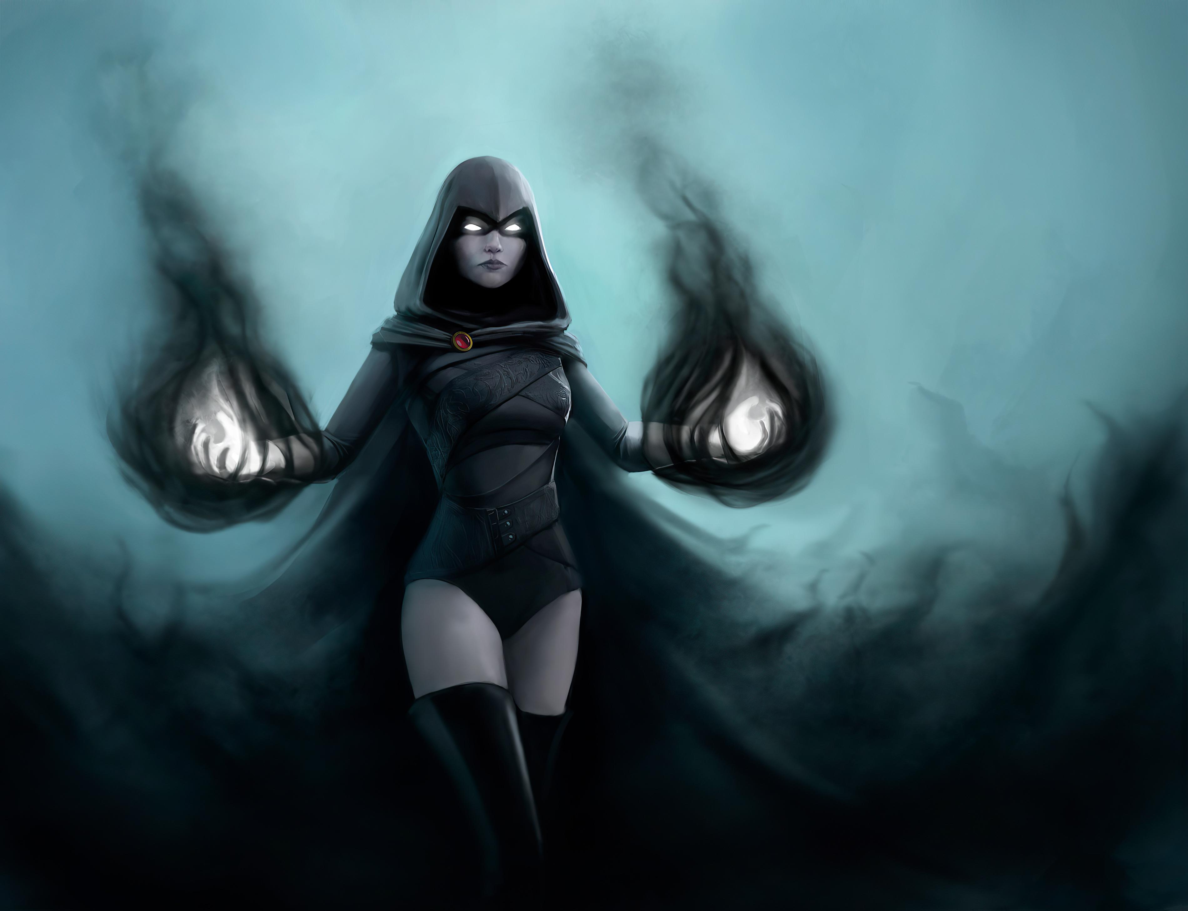 Dc Comics Raven Dc Comics Teen Titans 3800x2914