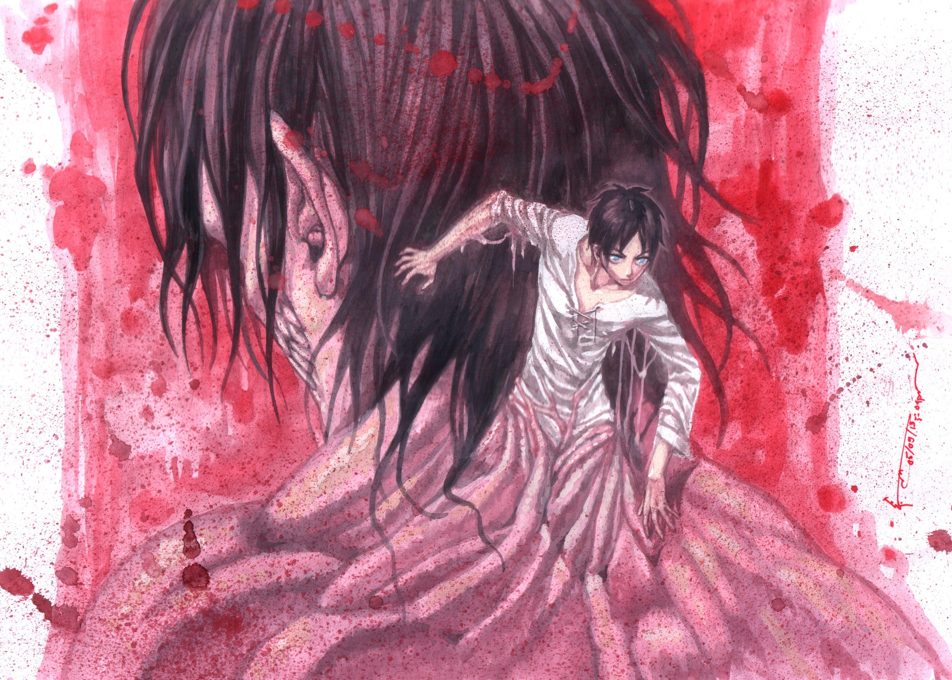 Anime Attack On Titan Wallpaper Resolution 3241x2316 Id 1055590 Wallha Com