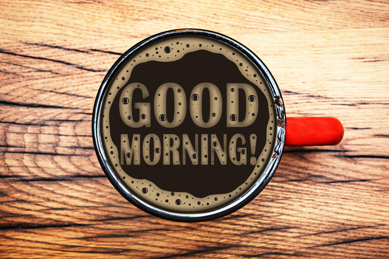Coffee Cup Good Morning 6000x4000