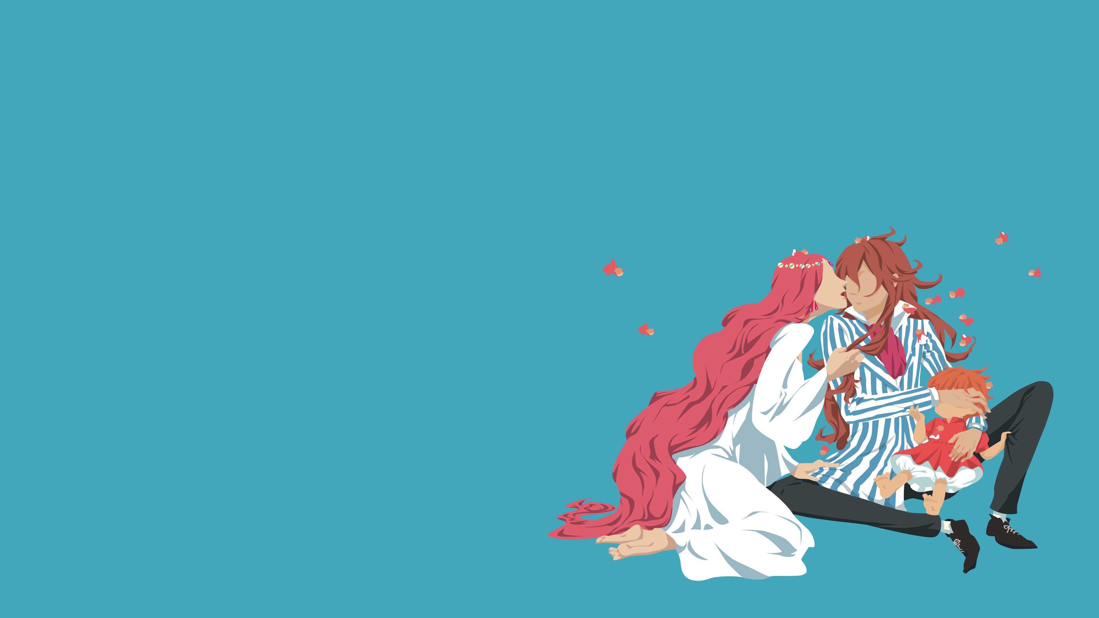 Anime Ponyo 3840x2160