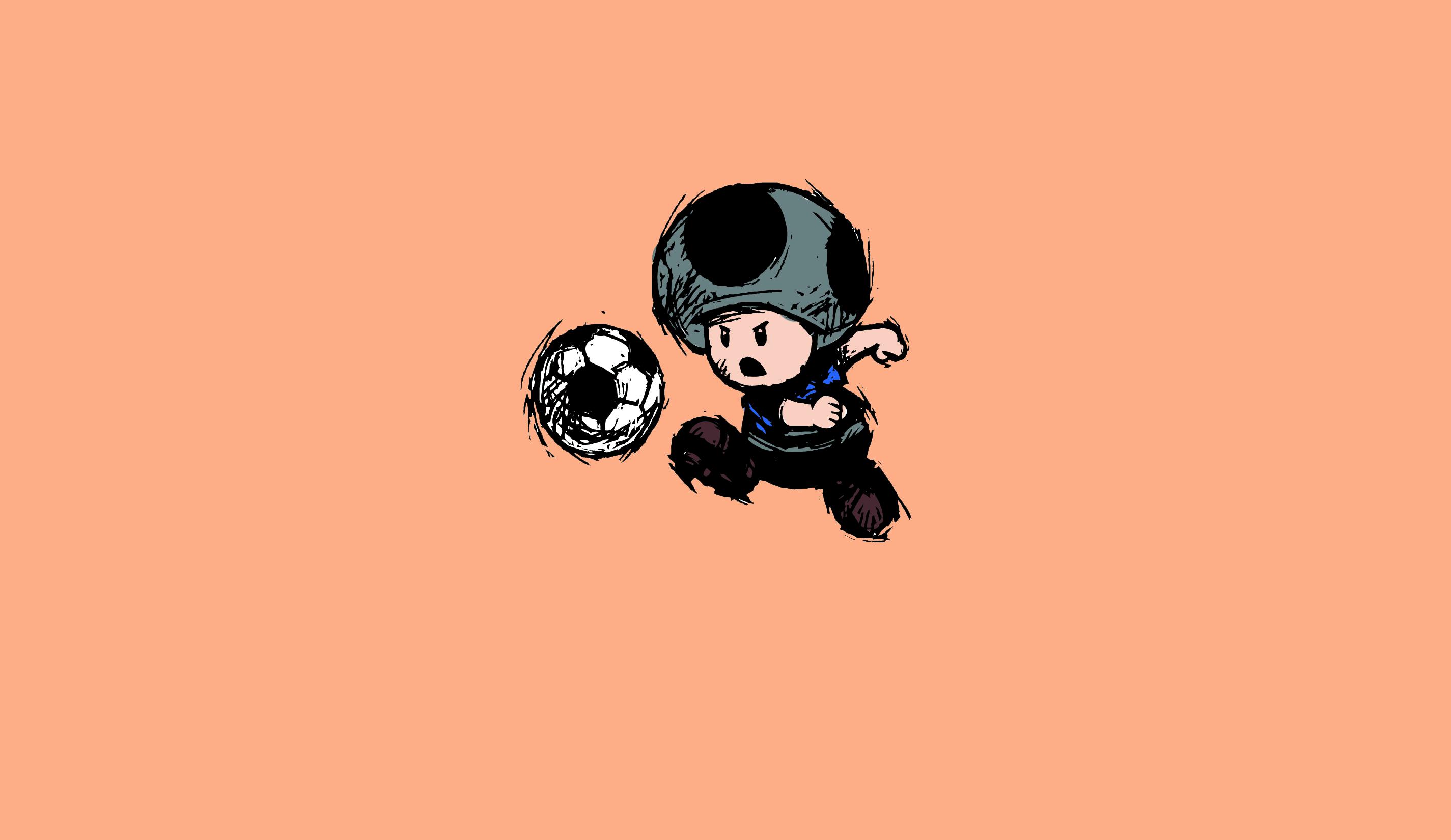 Soccer Toad Mario 2850x1650
