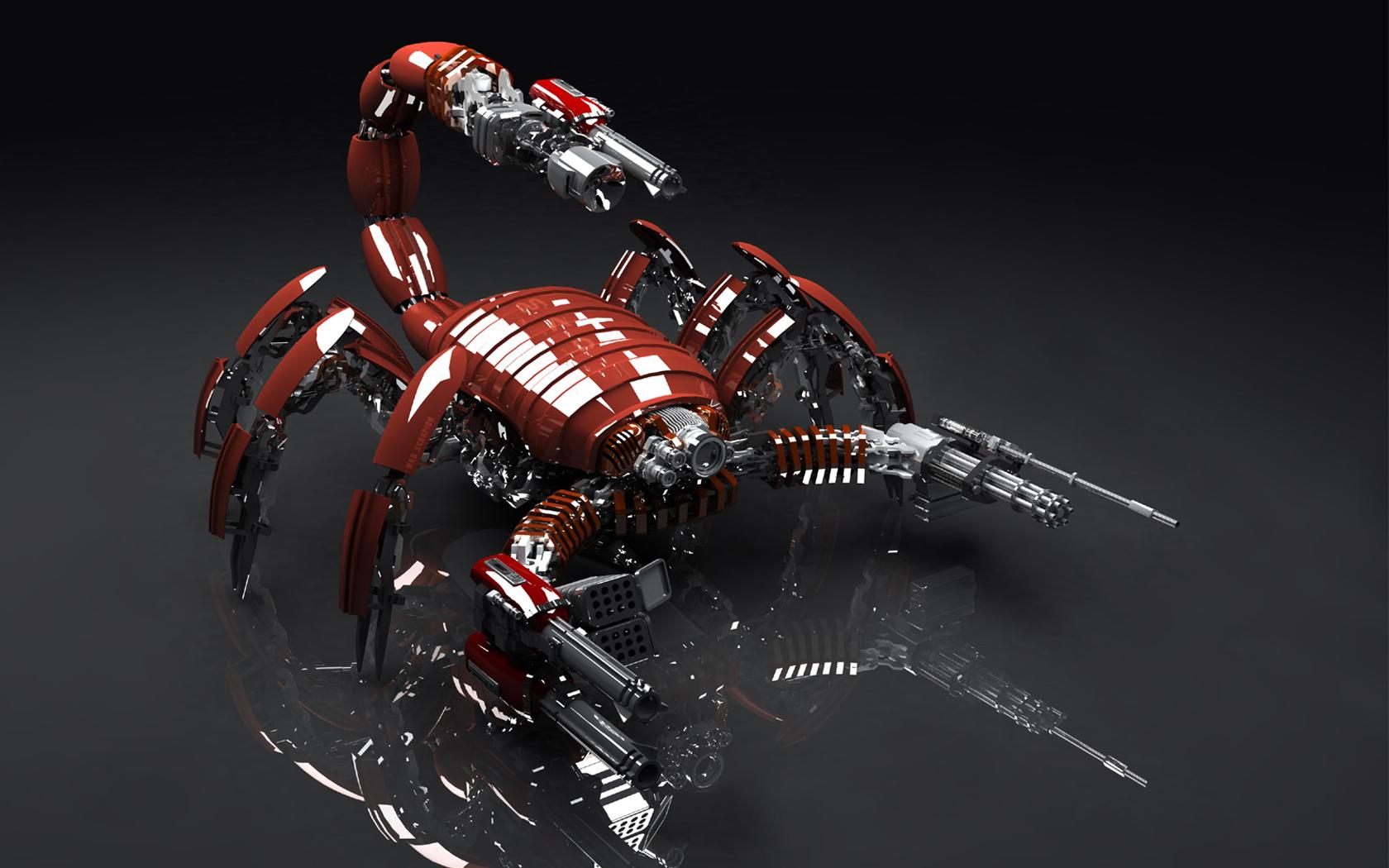 Gun Machine Scorpion 1680x1050