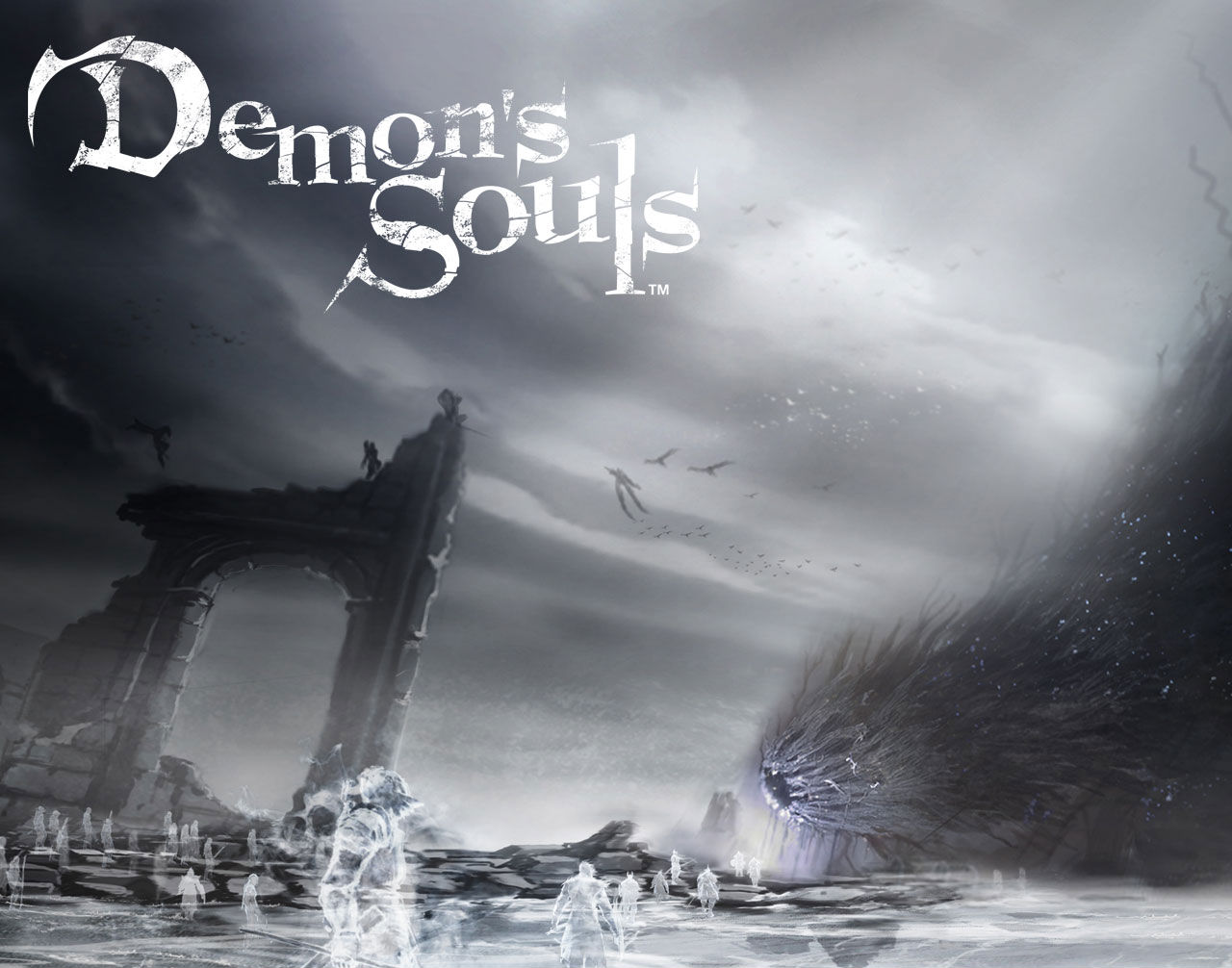 Video Game Demon 039 S Souls 1280x1006
