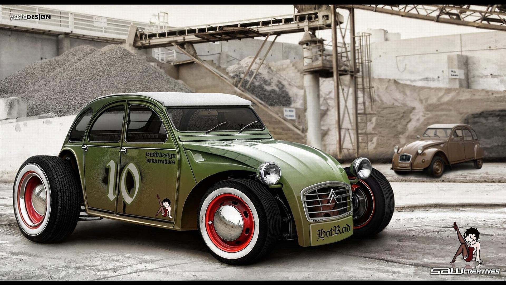Vehicles Citroen 1920x1080