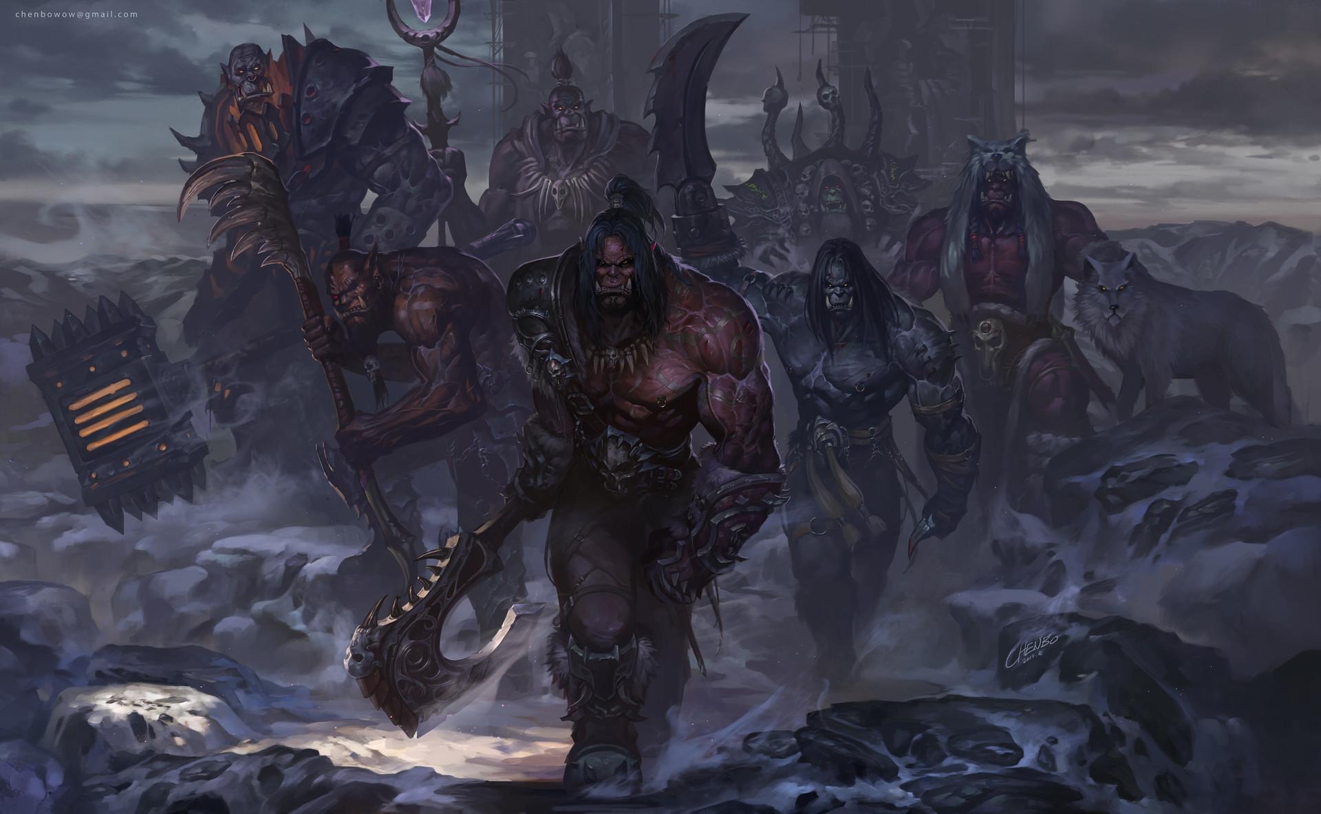 Blackhand World Of Warcraft Grommash Hellscream Gul 039 Dan World Of Warcraft Kargath Bladefist Kilr 1920x1183