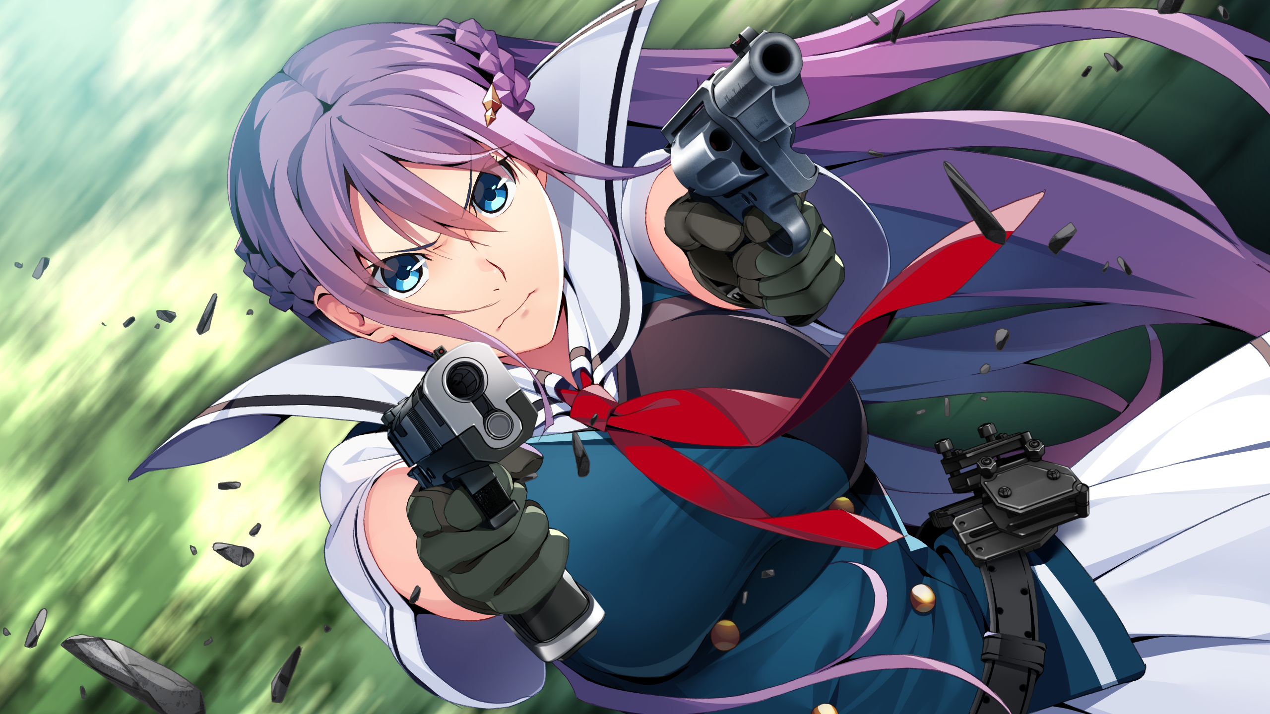 Anime Grisaia Phantom Trigger Wallpaper Resolution 2560x1440 Id Wallha Com