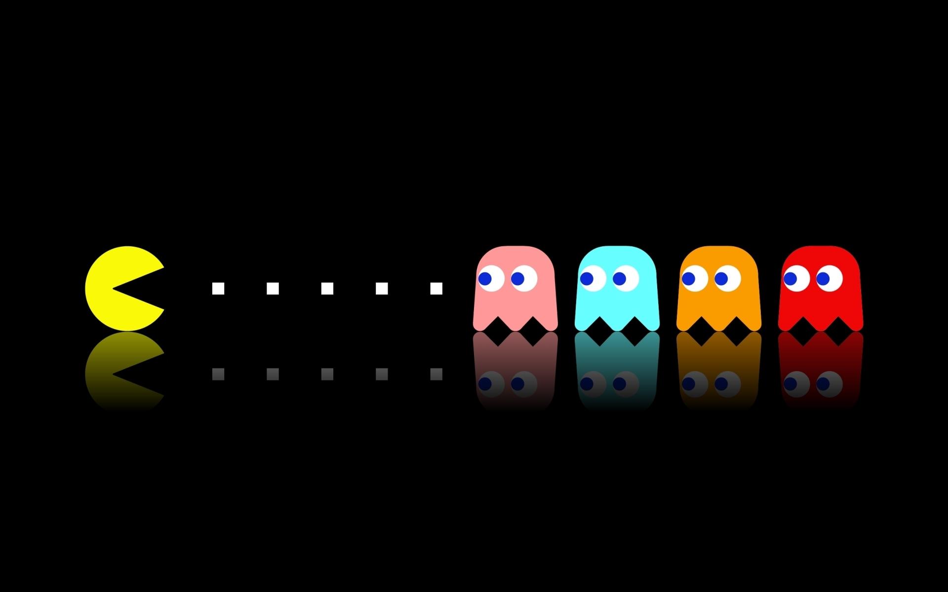 Video Game Pac Man 1920x1200