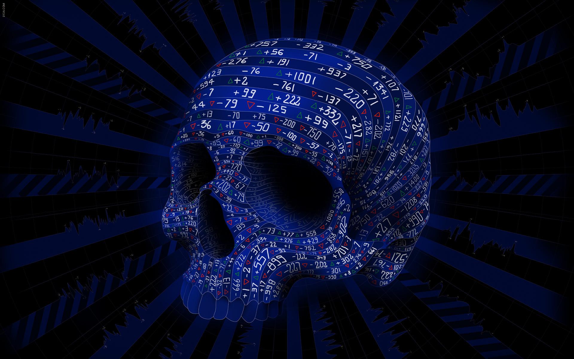 Artistic Business Cgi Digital Art Mathematics Number Psychedelic 1920x1200