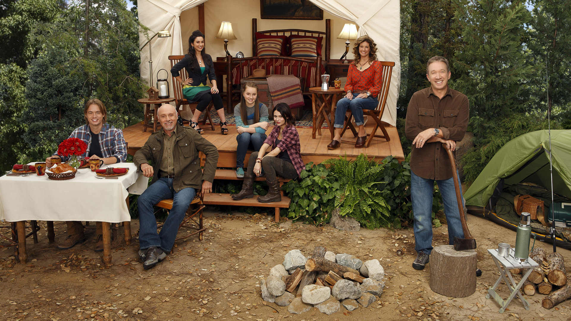 Cast Last Man Standing Tv Show Tim Allen 1920x1080
