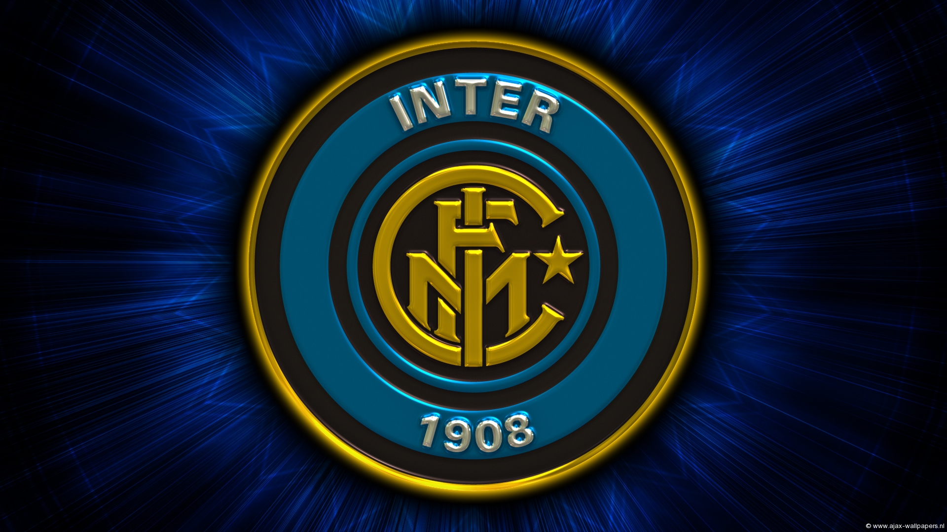 Emblem Inter Milan Logo Soccer Wallpaper Resolution 1920x1080 Id 1069384 Wallha Com