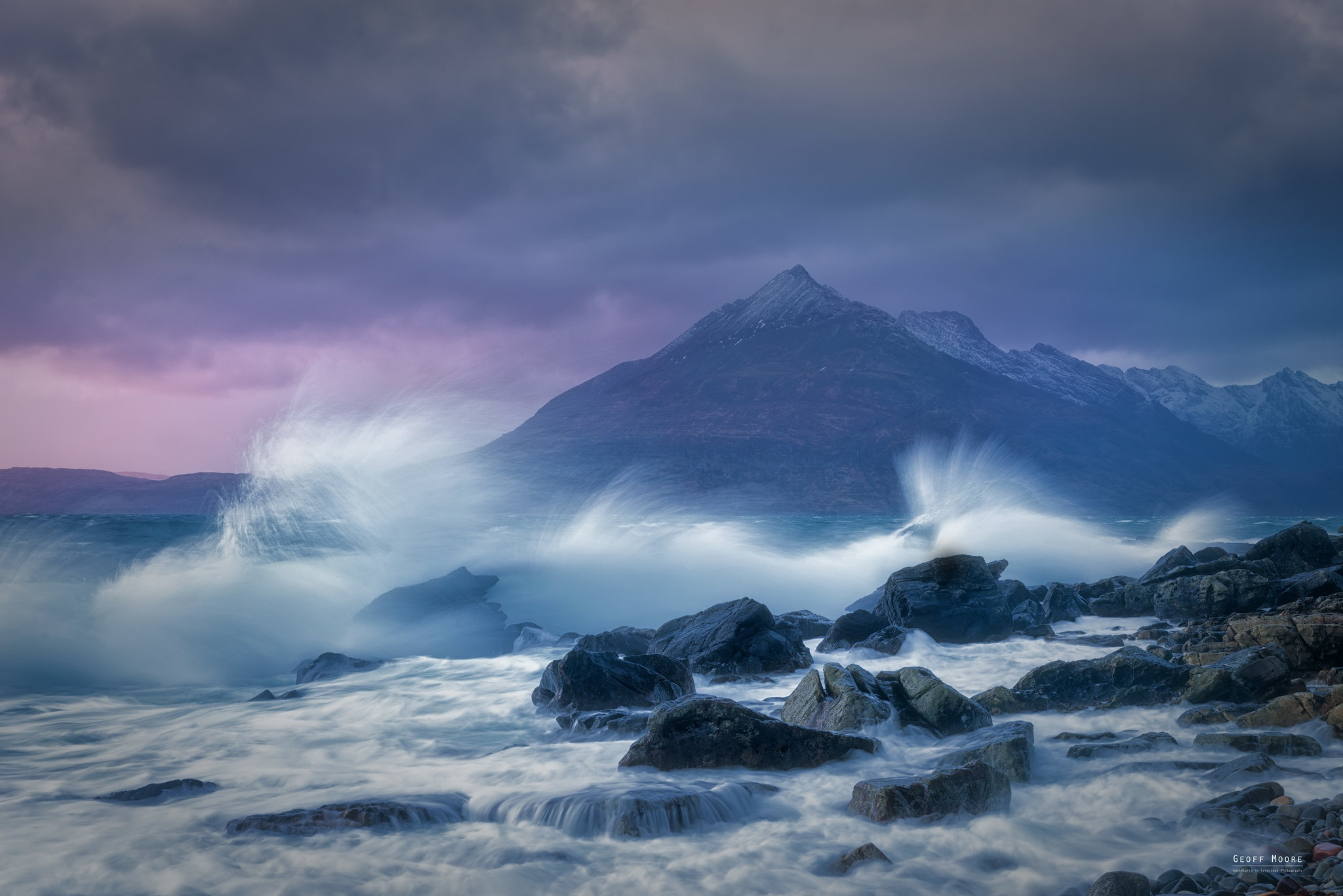 Mountain Scotland Stone 2048x1367