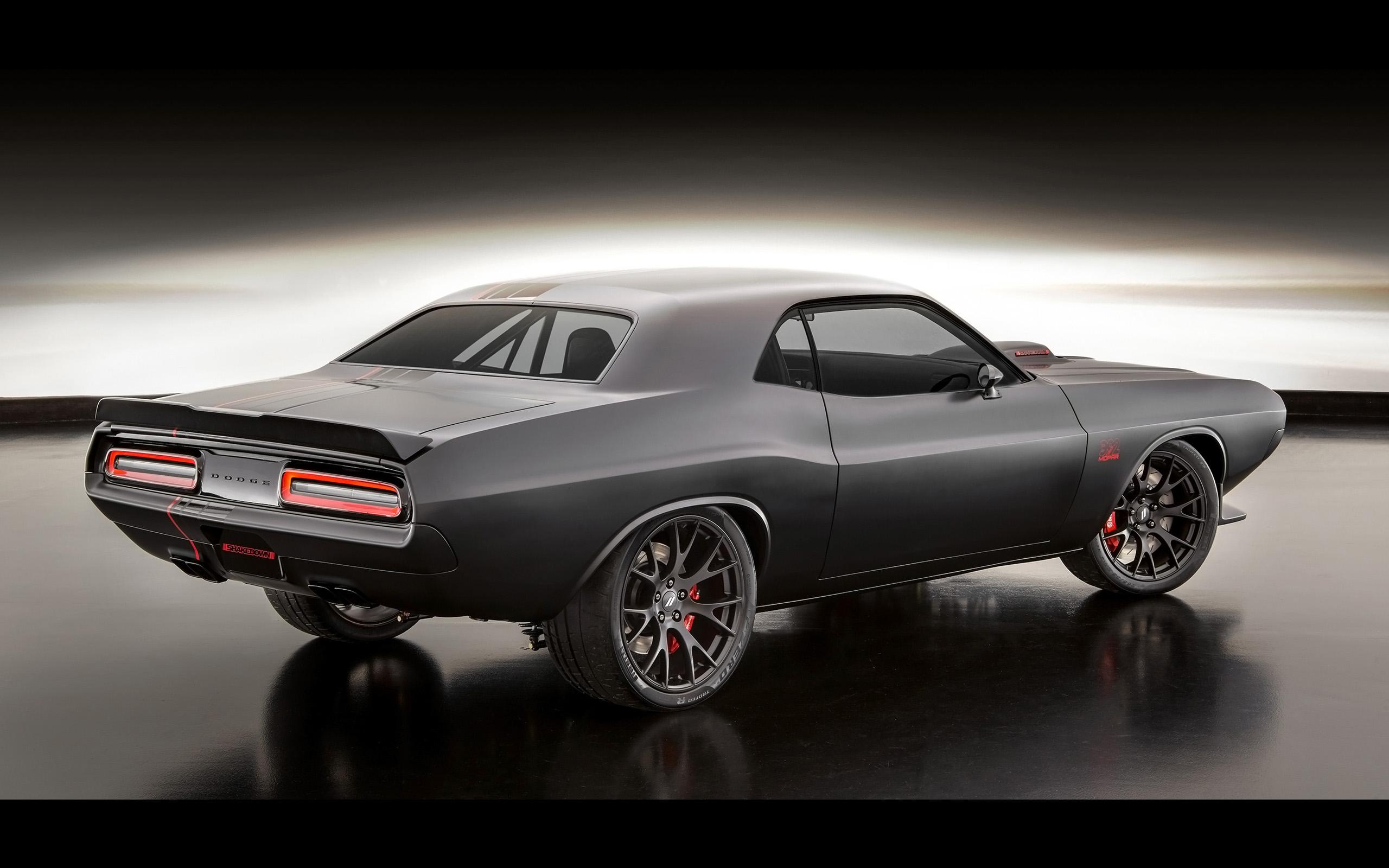 Car Dodge Dodge Challenger Dodge Shakedown Challenger Hot Rod Mopar Muscle Car Vehicle 2560x1600