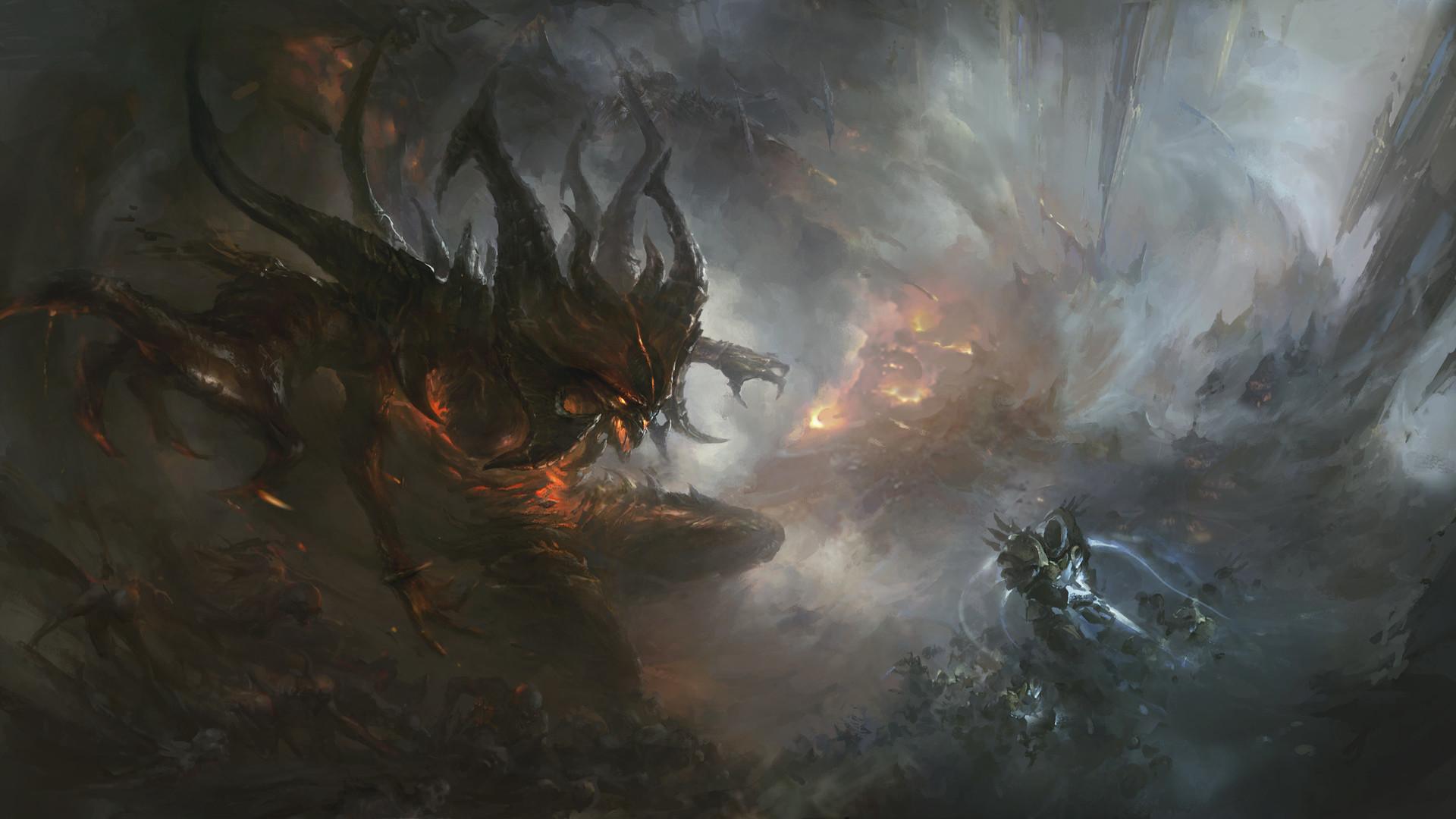 Demon Diablo Tyrael Diablo Iii 1920x1080