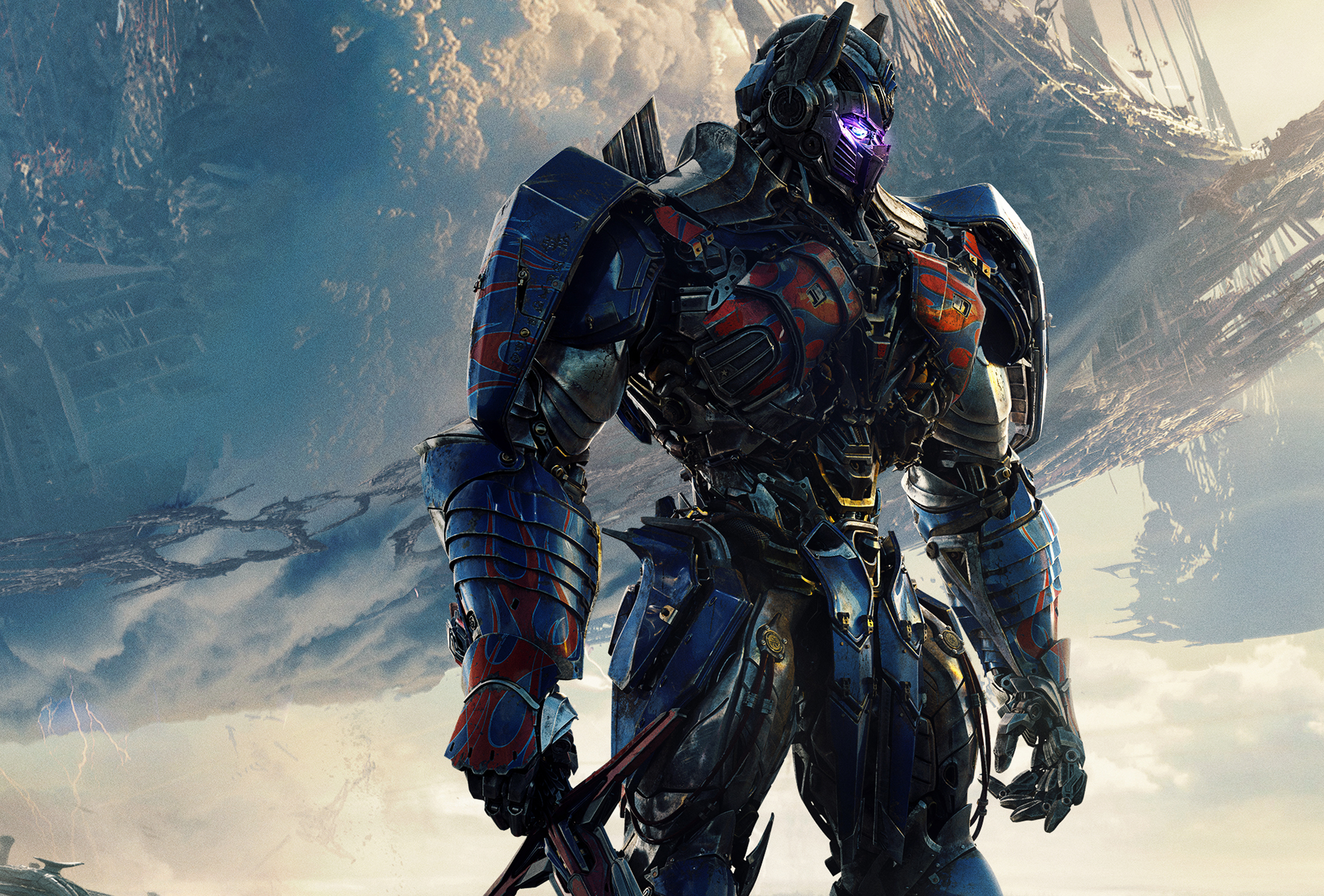 Optimus Prime Transformers The Last Knight 3840x2600