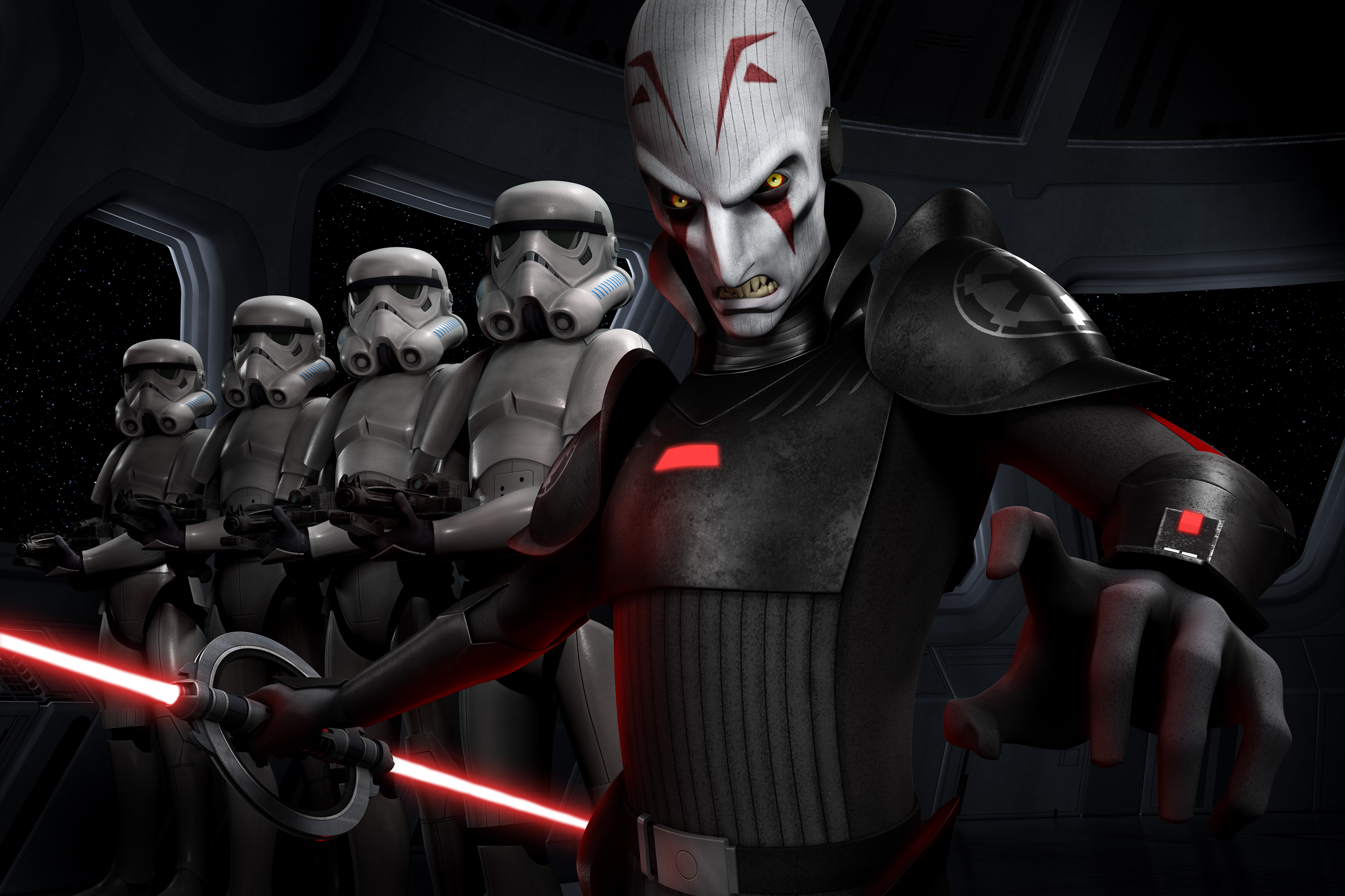 Star Wars Rebels Stormtrooper The Inquisitor 3600x2400