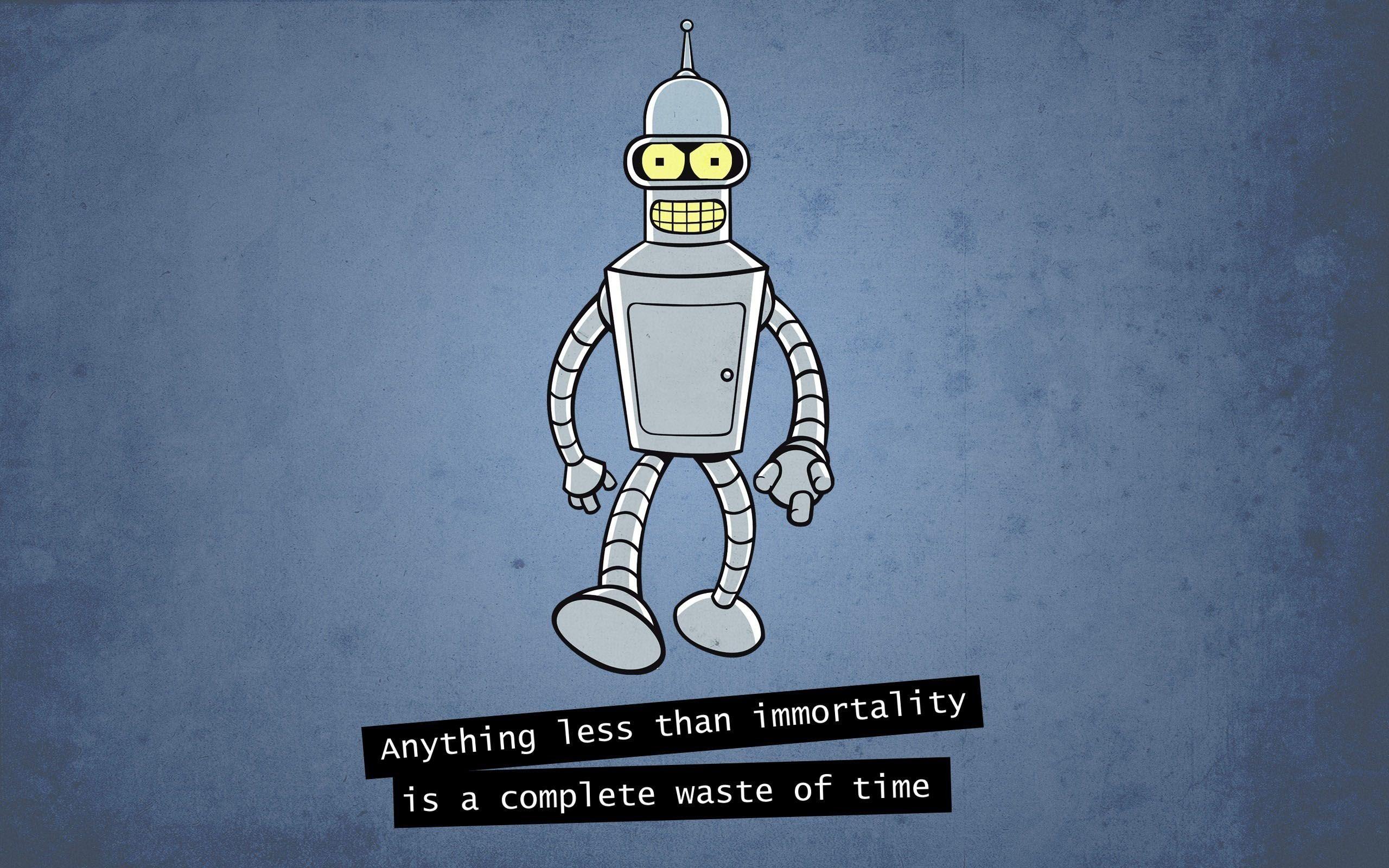 Bender Futurama Futurama Robot 2560x1600