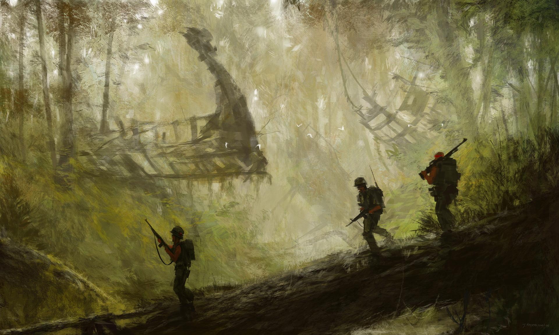 Artistic Kong Skull Island Soldier 1920x1152