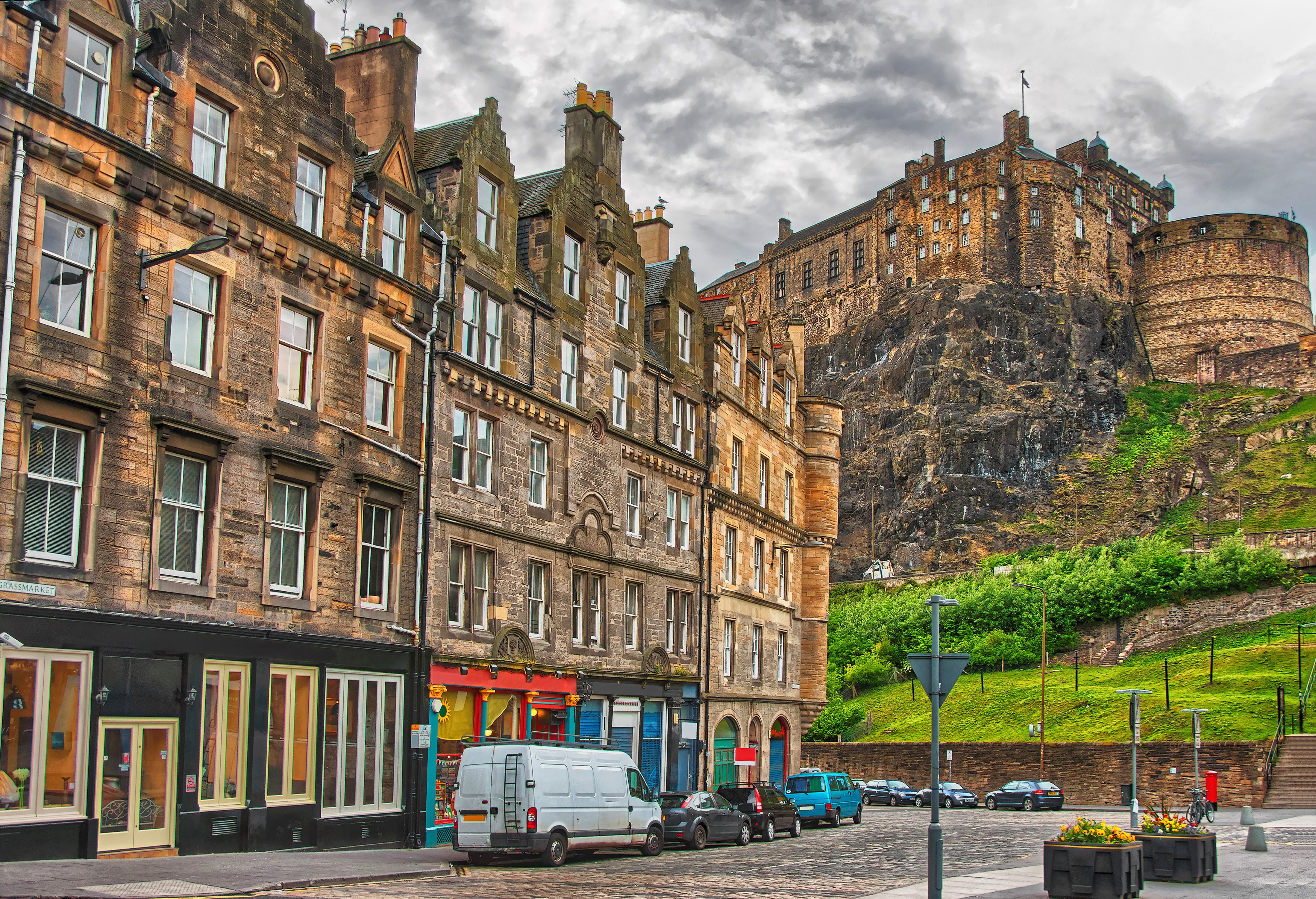 Architecture Building Edinburgh Scotland Street 3500x2392