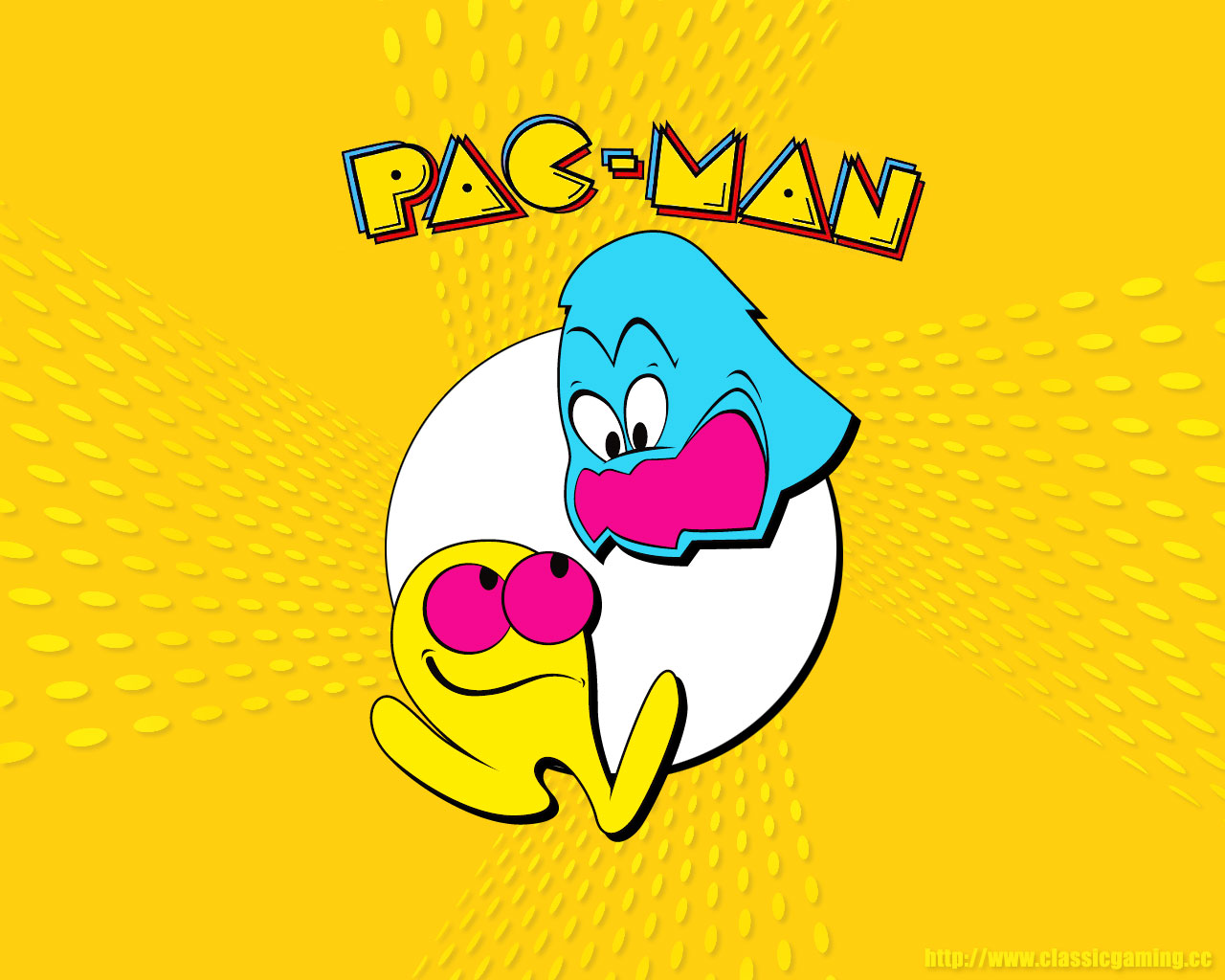 Pac Man 1280x1024