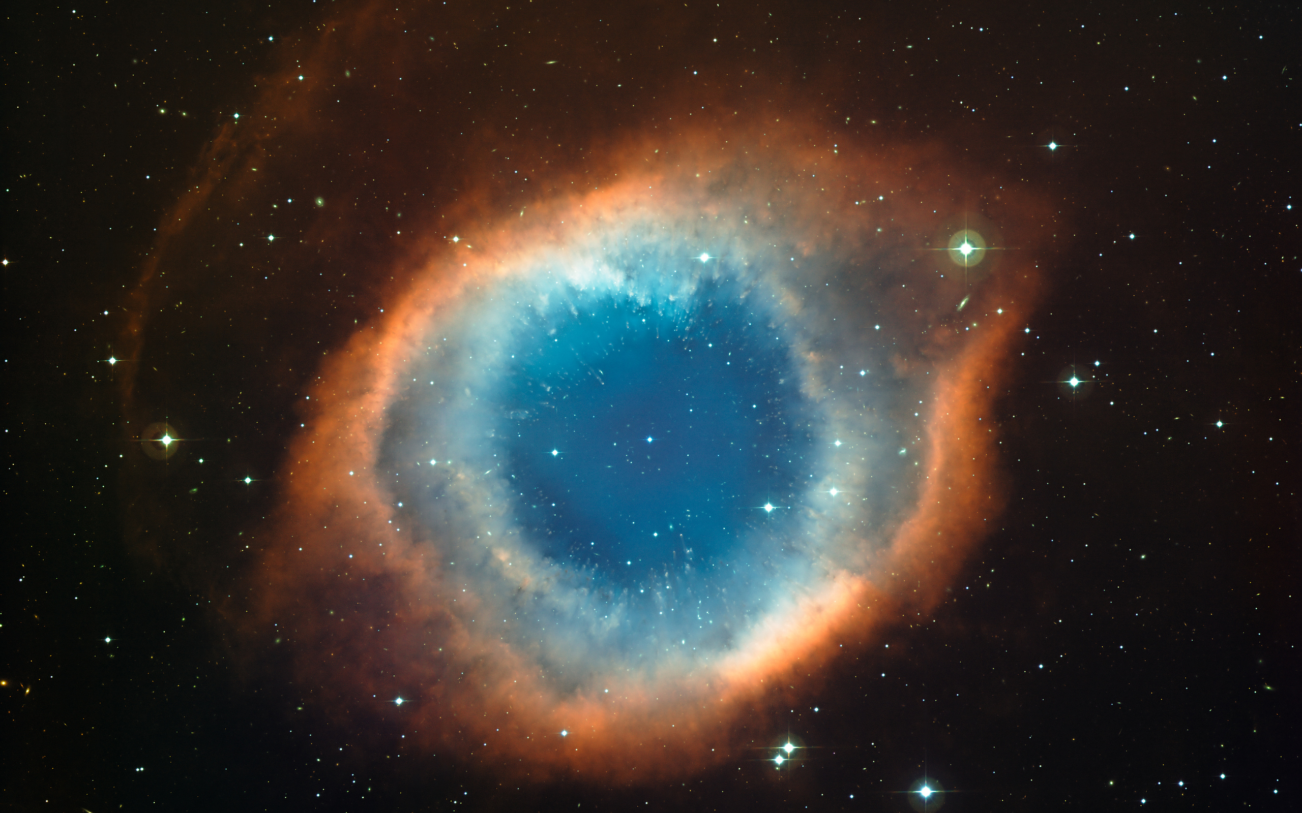 Helix Nebula Space Stars 2560x1600