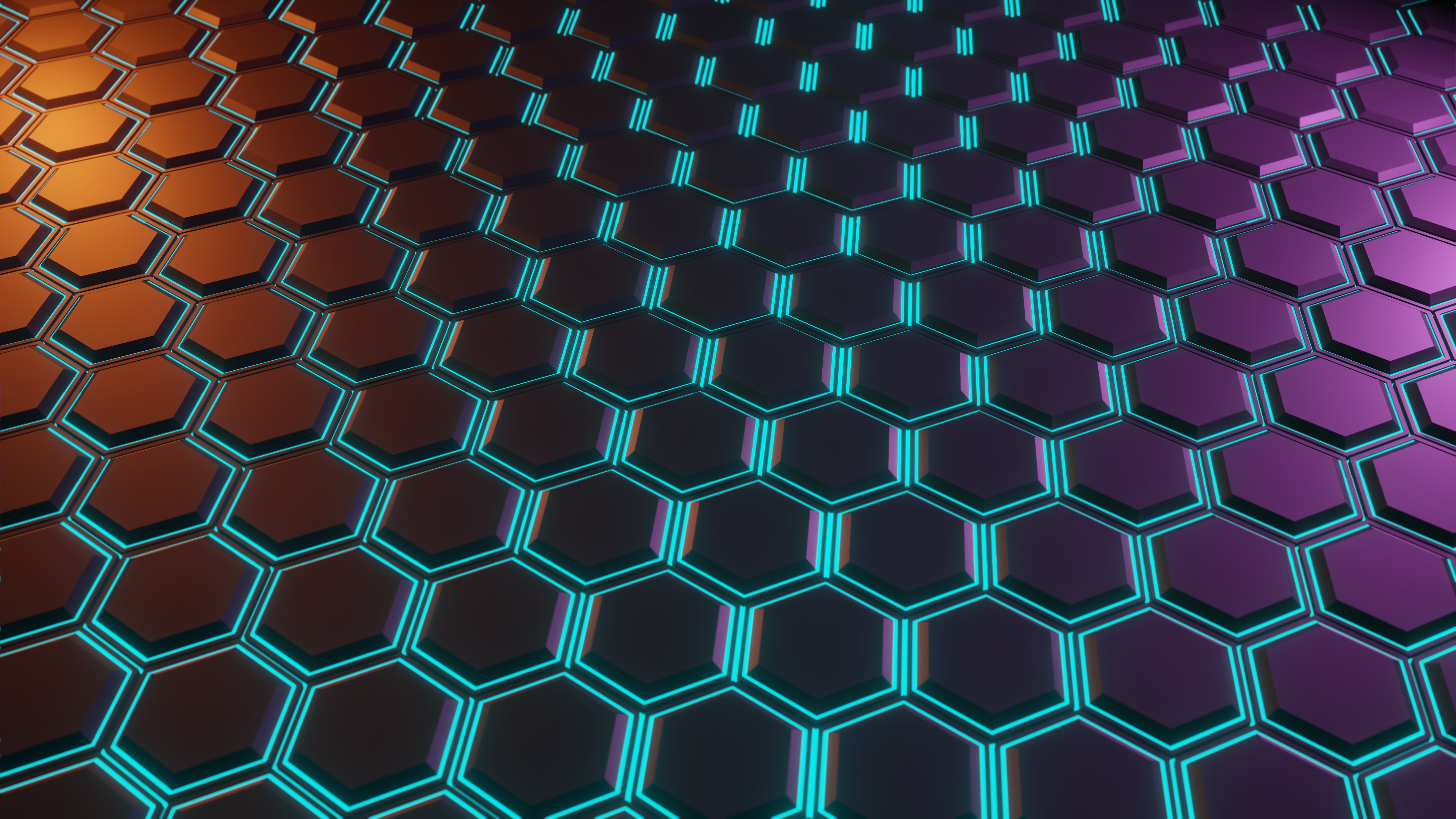 Hexagon Pattern 4800x2700